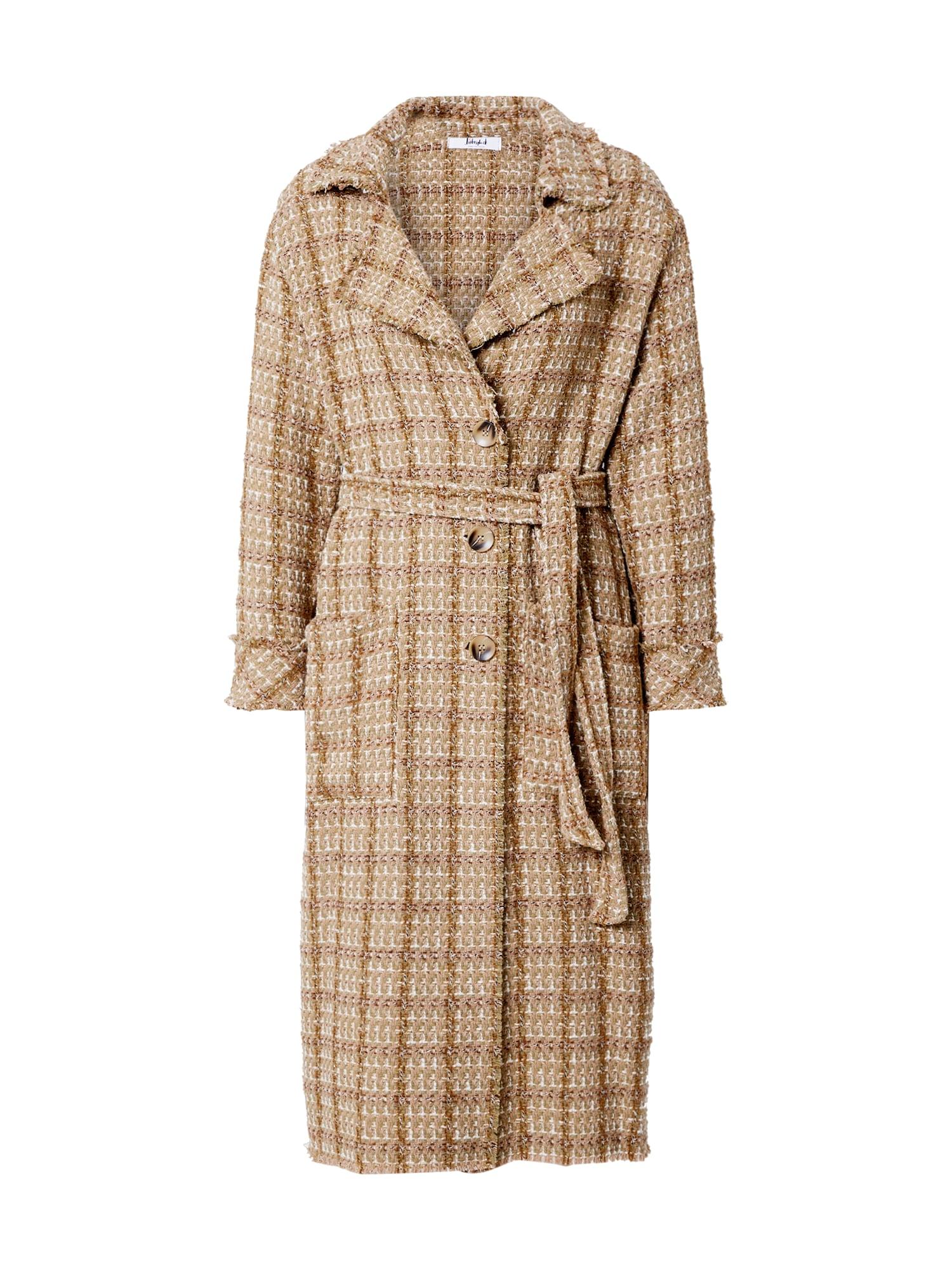 Liebesglück Demisezoninis paltas ruda / smėlio