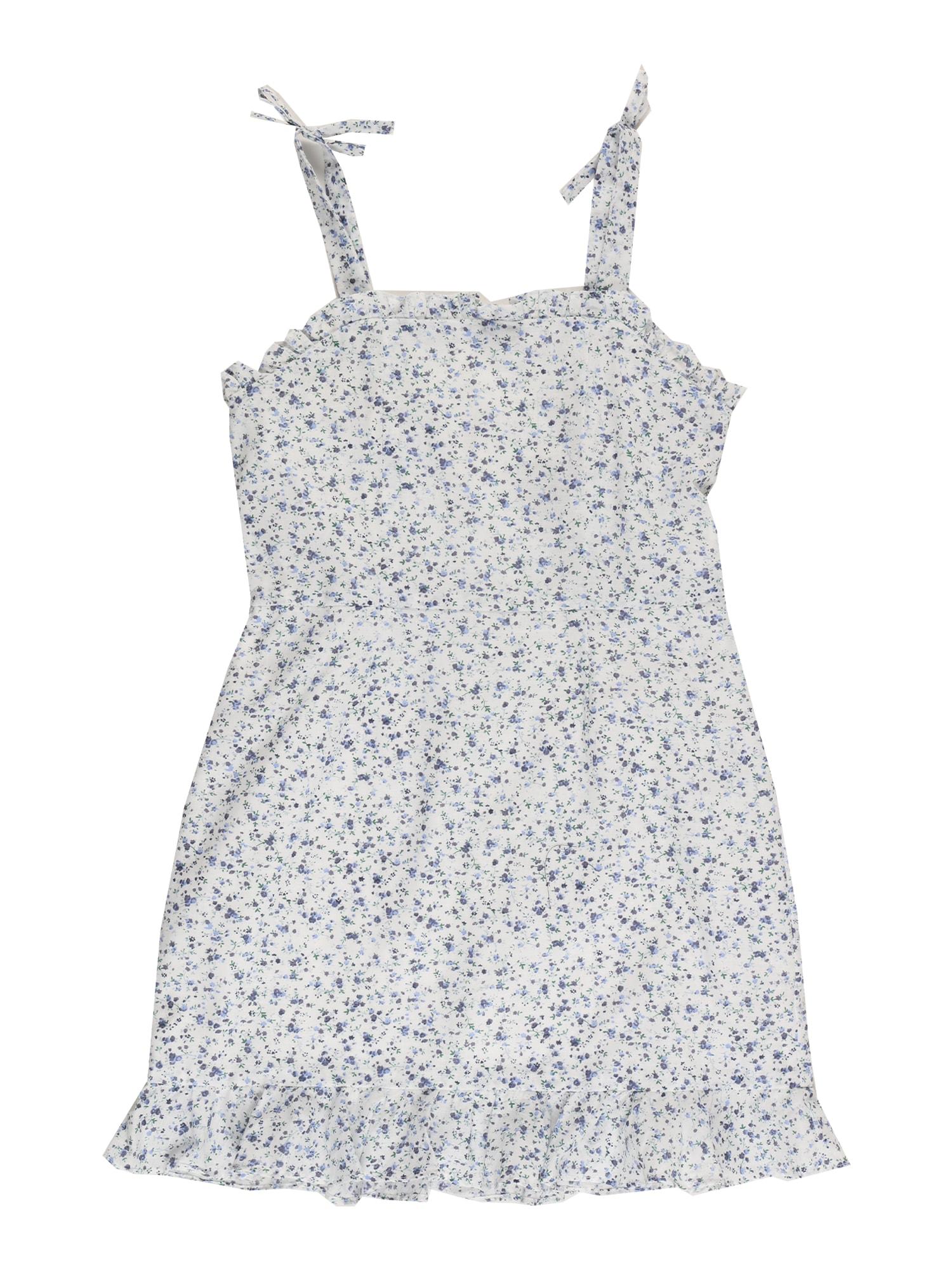 Bardot Junior Suknelė mėlyna / šviesiai mėlyna / žalia / balta
