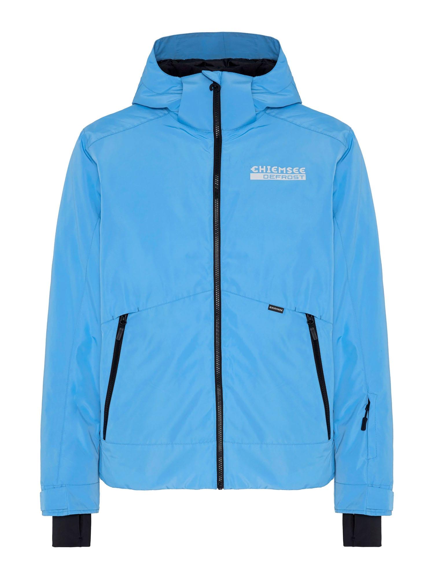 CHIEMSEE Outdoorová bunda  nebeská modř / černá / bílá