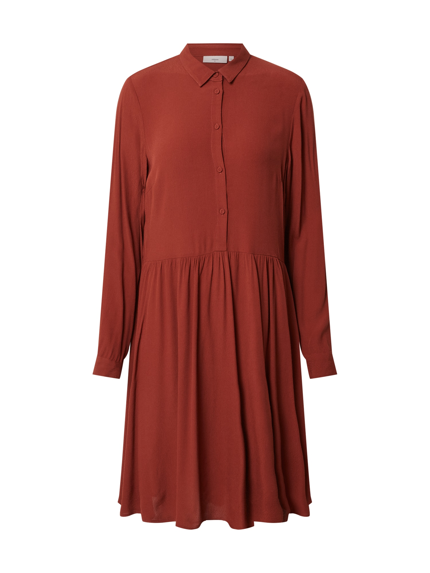 minimum Košilové šaty 'Bindie 212'  tmavě červená