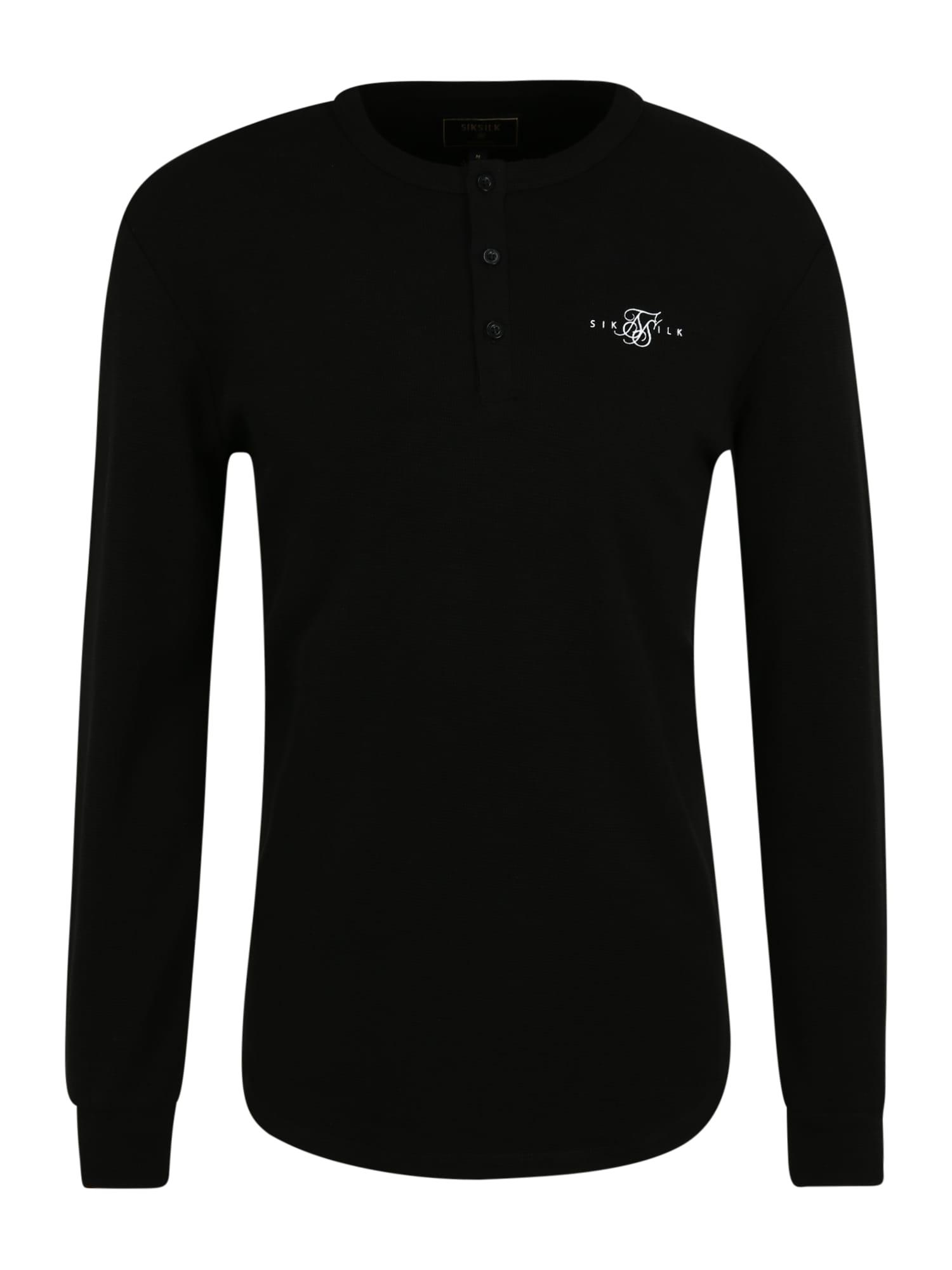 SikSilk Marškinėliai juoda