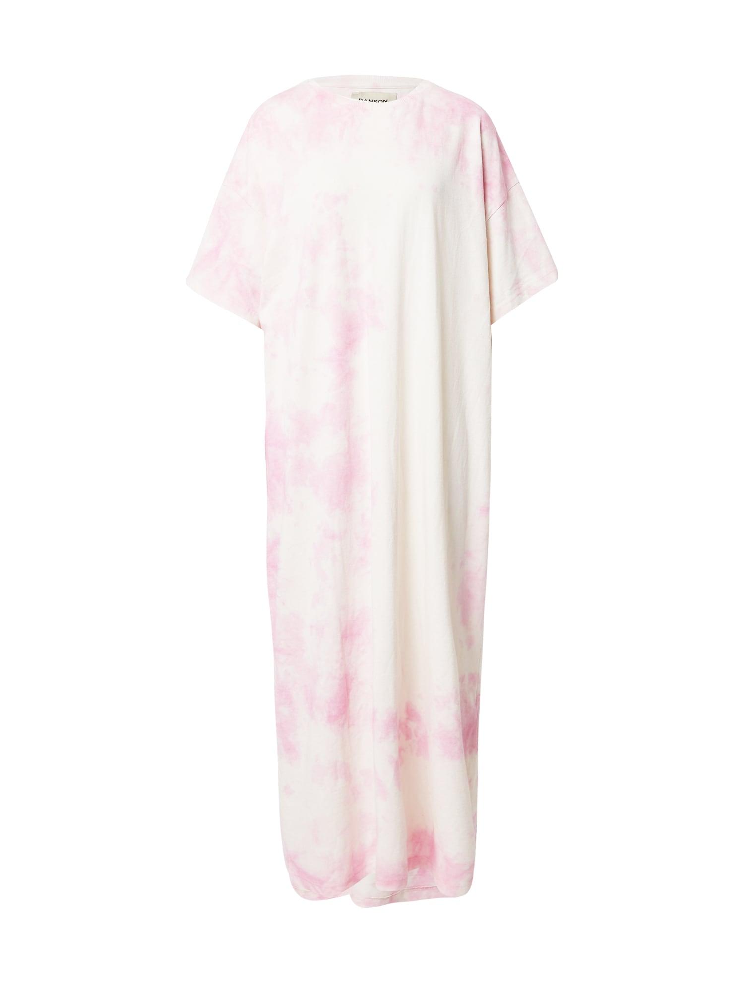 Damson Madder Suknelė rožių spalva / balta