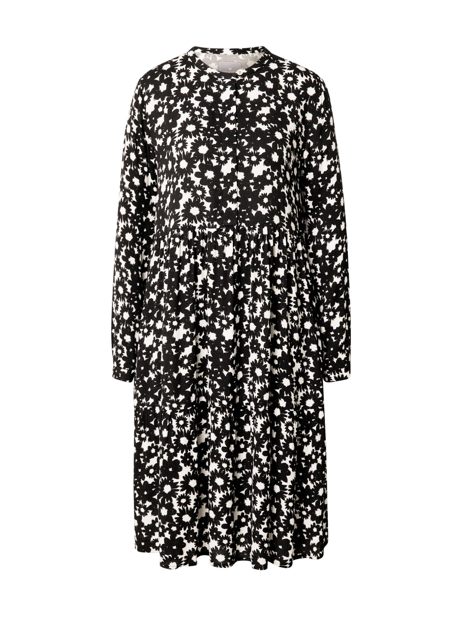 LIEBLINGSSTÜCK Palaidinės tipo suknelė balkšva / juoda