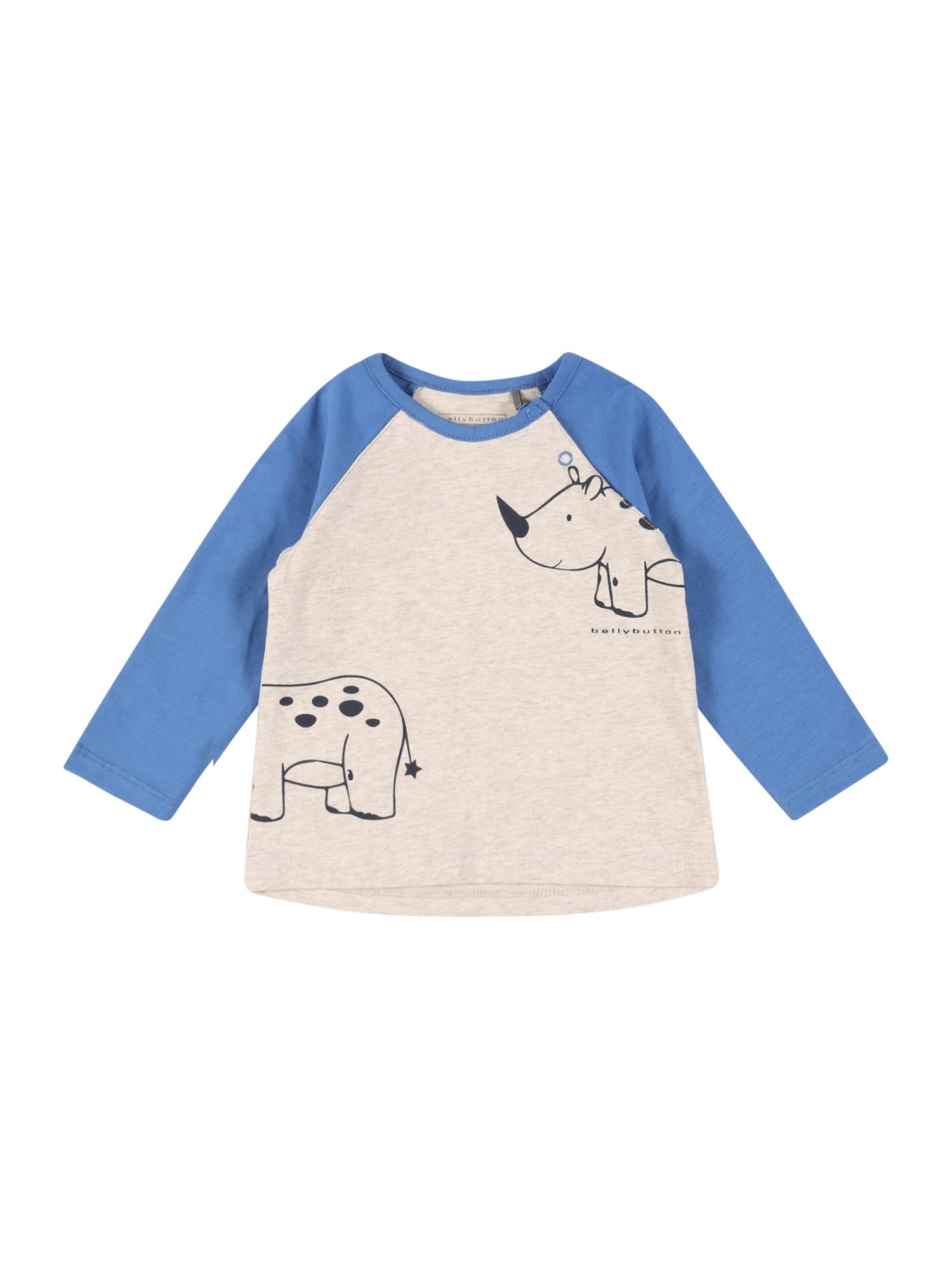 "BELLYBUTTON Marškinėliai glaisto spalva / sodri mėlyna (""karališka"") / nakties mėlyna"