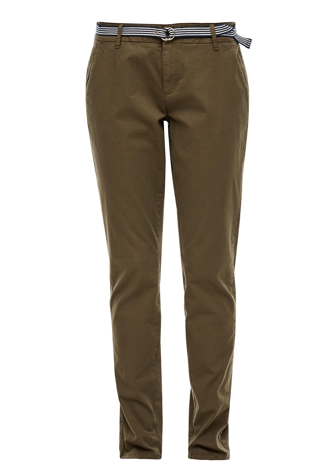 s.Oliver Chino nohavice  kaki