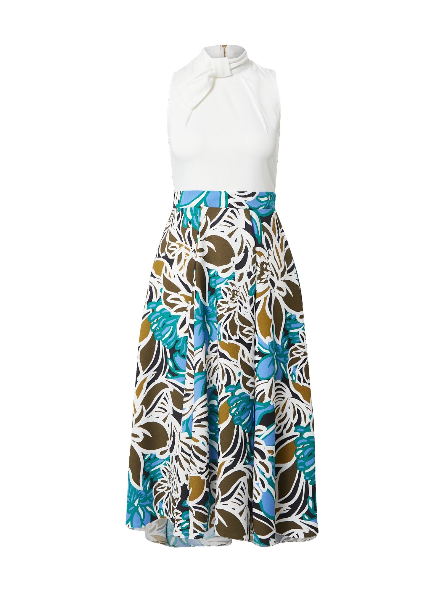 Closet London Suknelė balta / mišrios spalvos