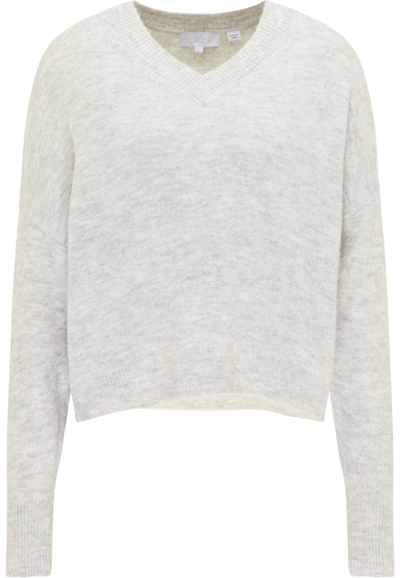 usha WHITE LABEL Megztinis šviesiai pilka