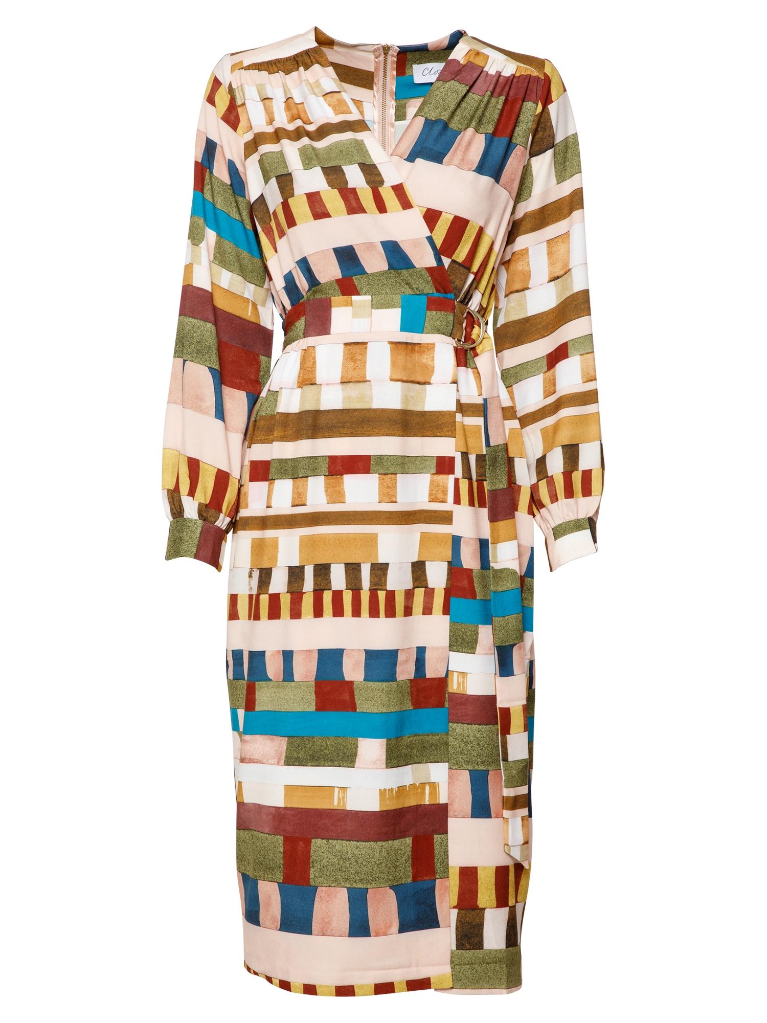 Closet London Palaidinės tipo suknelė smėlio spalva / mišrios spalvos