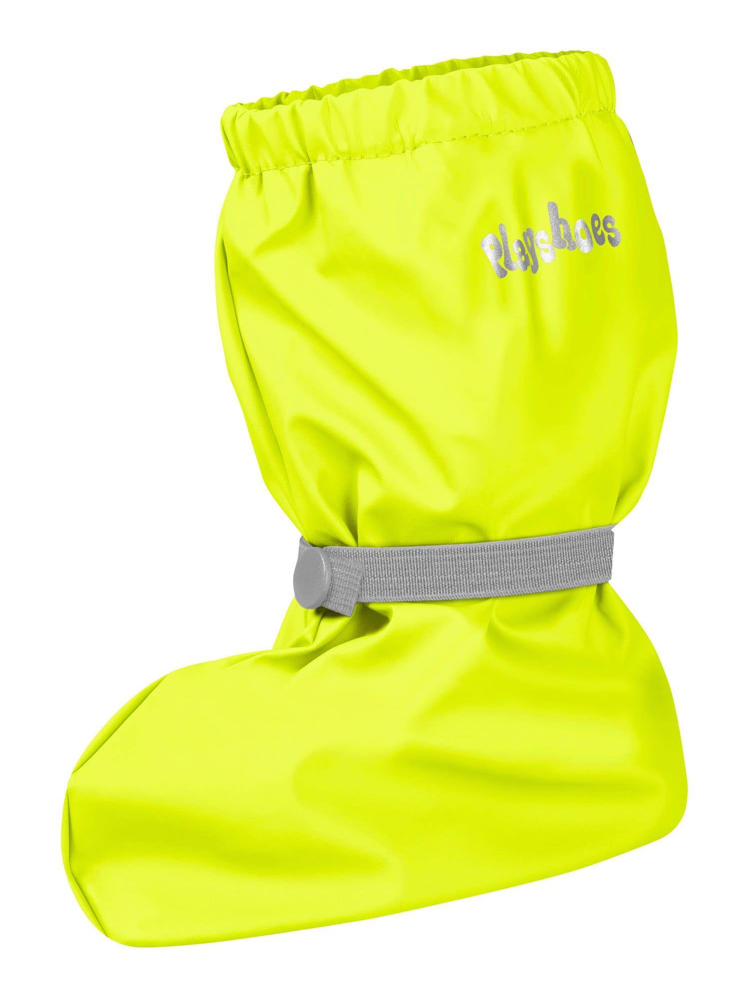 PLAYSHOES Auliniai neoninė geltona / pilka