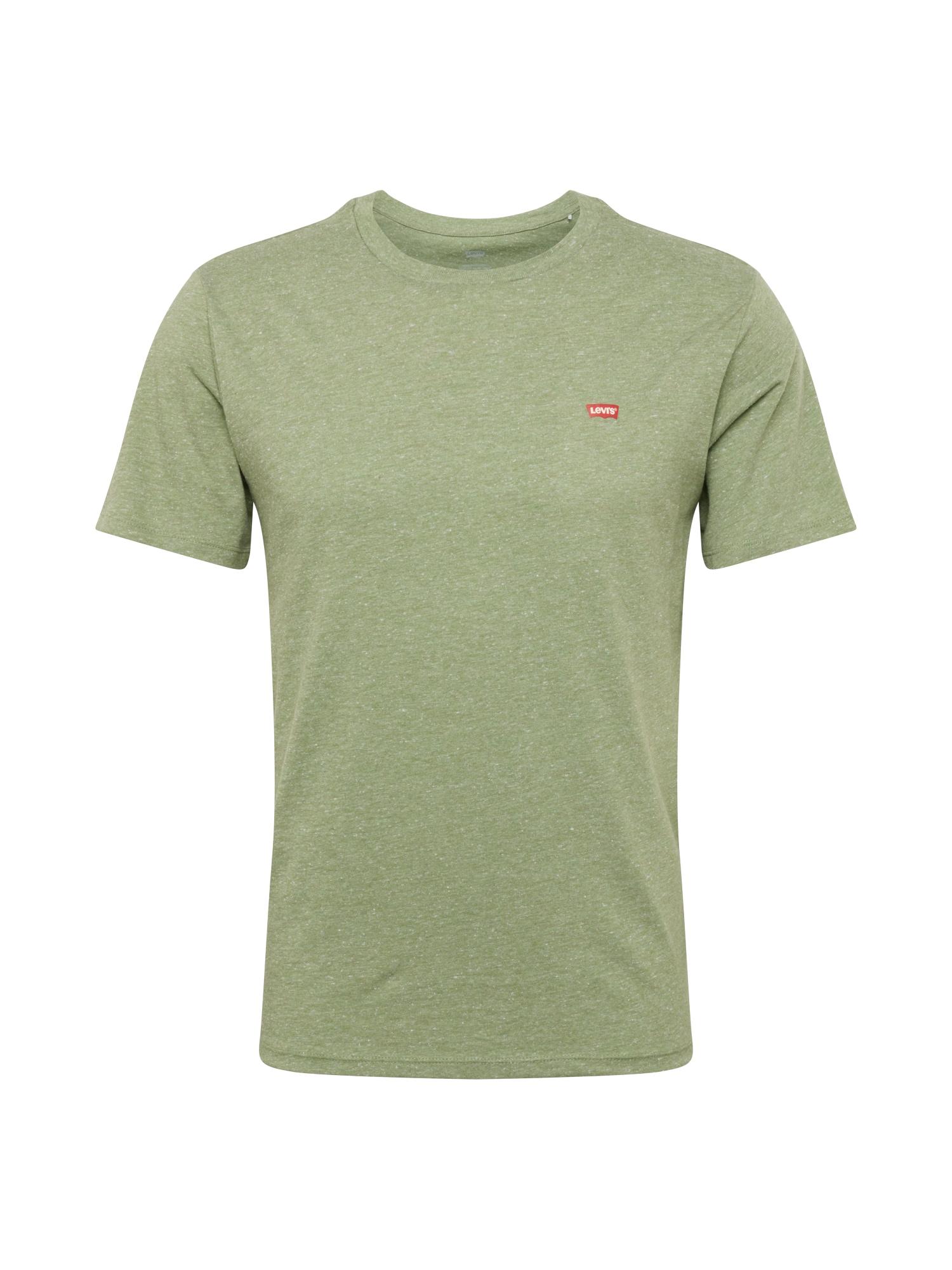 LEVI'S Tričko  pastelově zelená / melounová / bílá