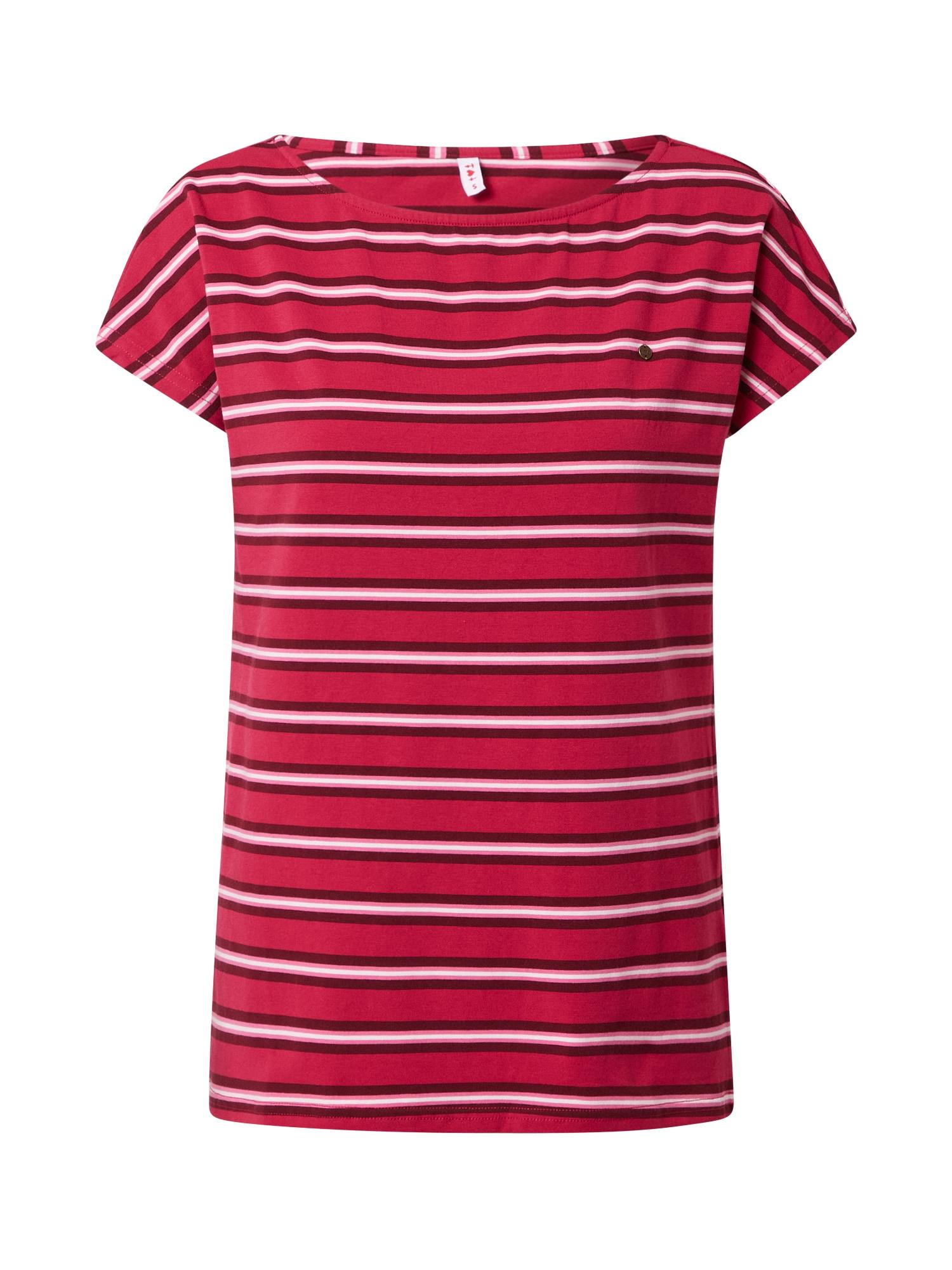 Blutsgeschwister Marškinėliai pitajų spalva / balta / tamsiai raudona / rožinė