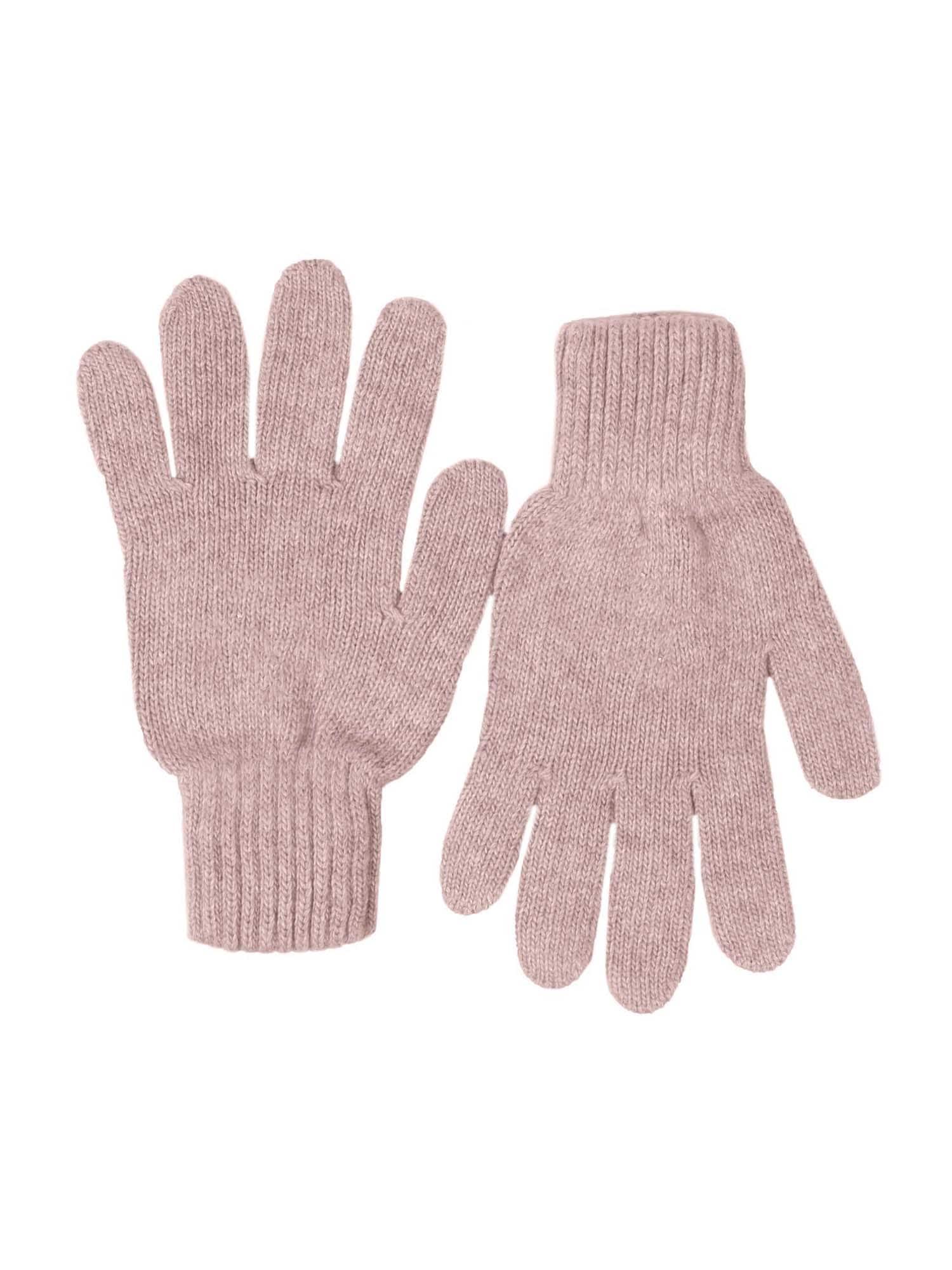 Zwillingsherz Pirštuotos pirštinės ryškiai rožinė spalva
