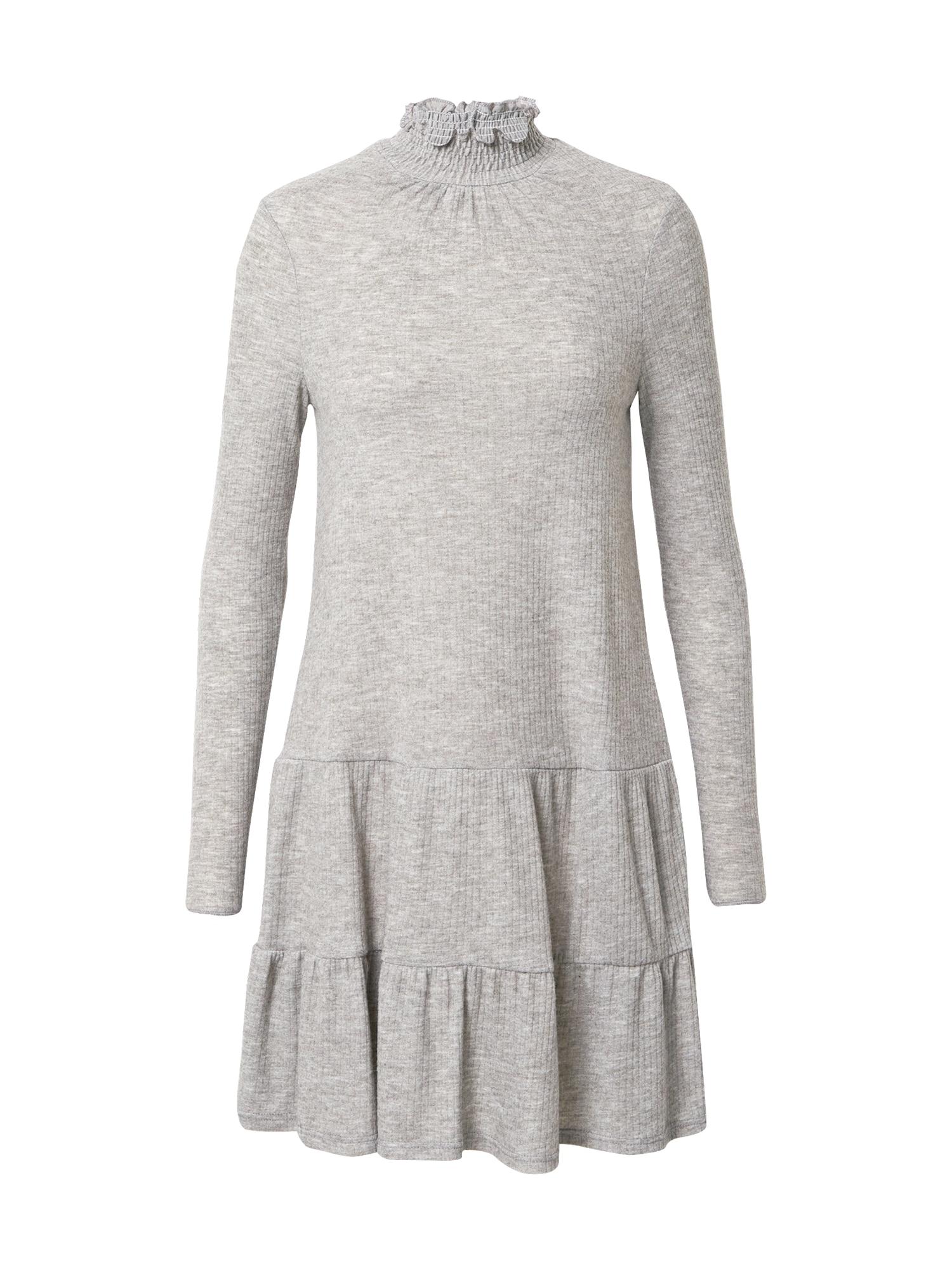 Miss Selfridge Šaty  šedá
