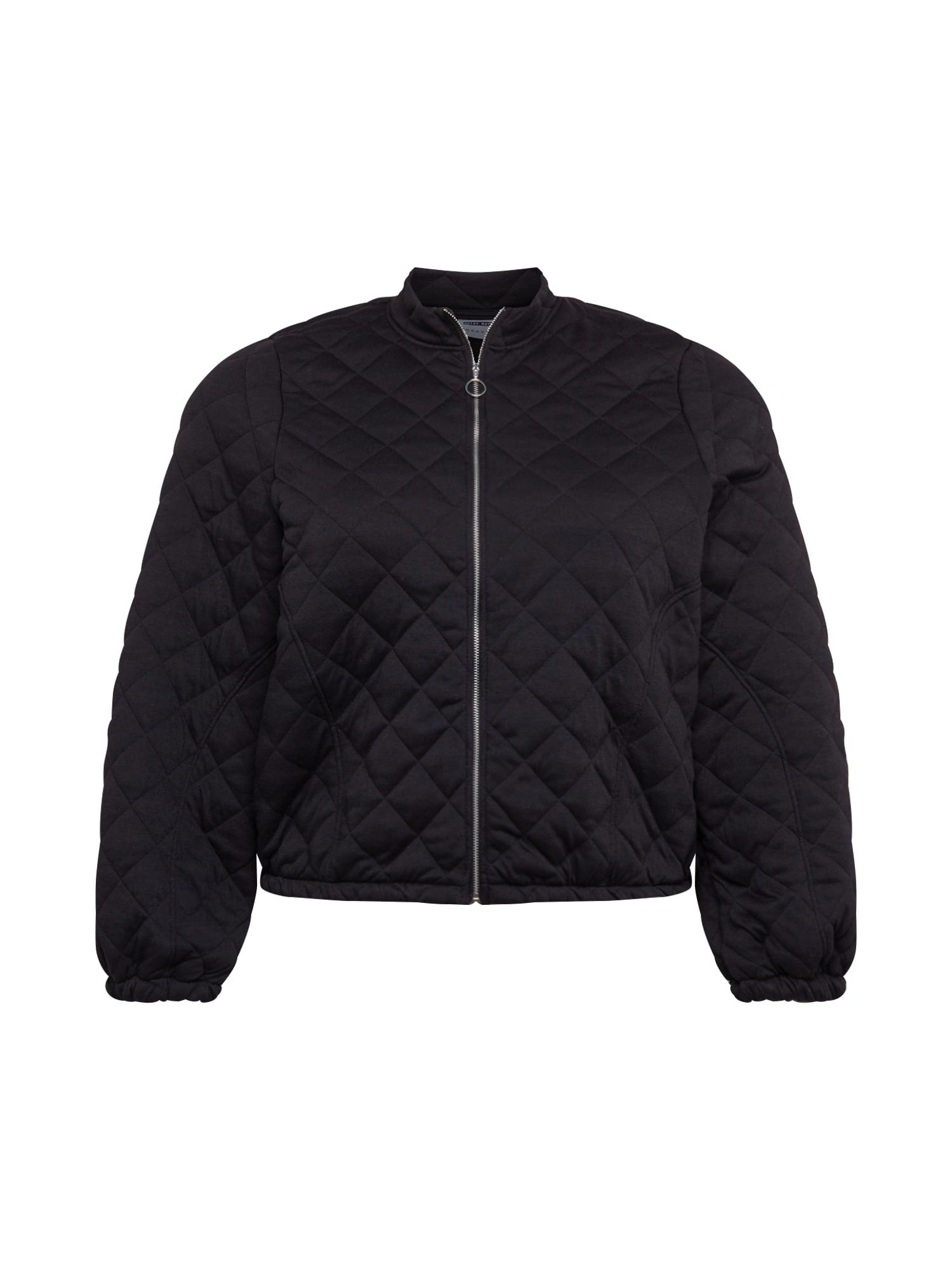 Noisy May Curve Prechodná bunda 'Emilia'  čierna