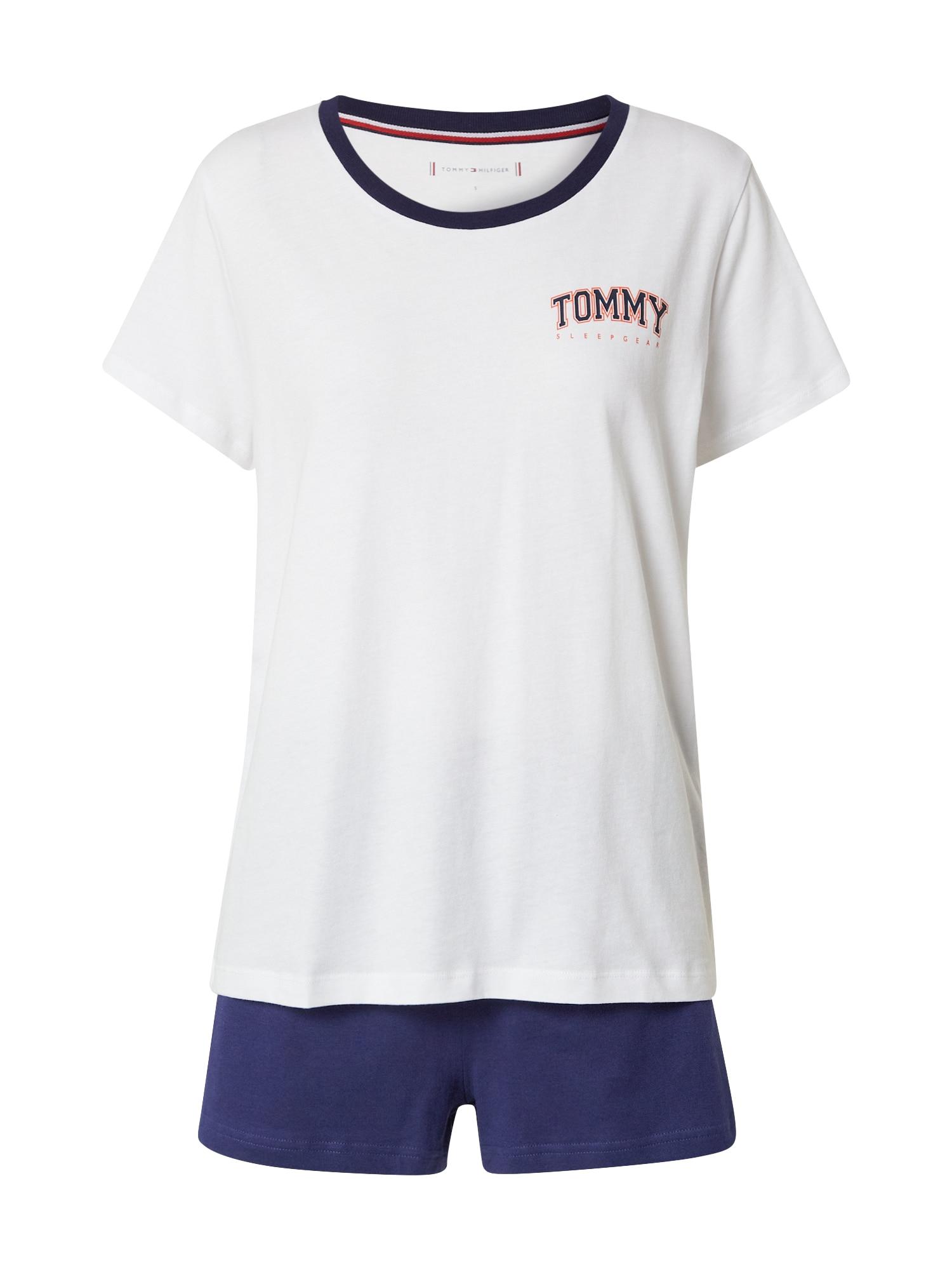 Tommy Hilfiger Underwear Pyžamo  námořnická modř / offwhite / melounová