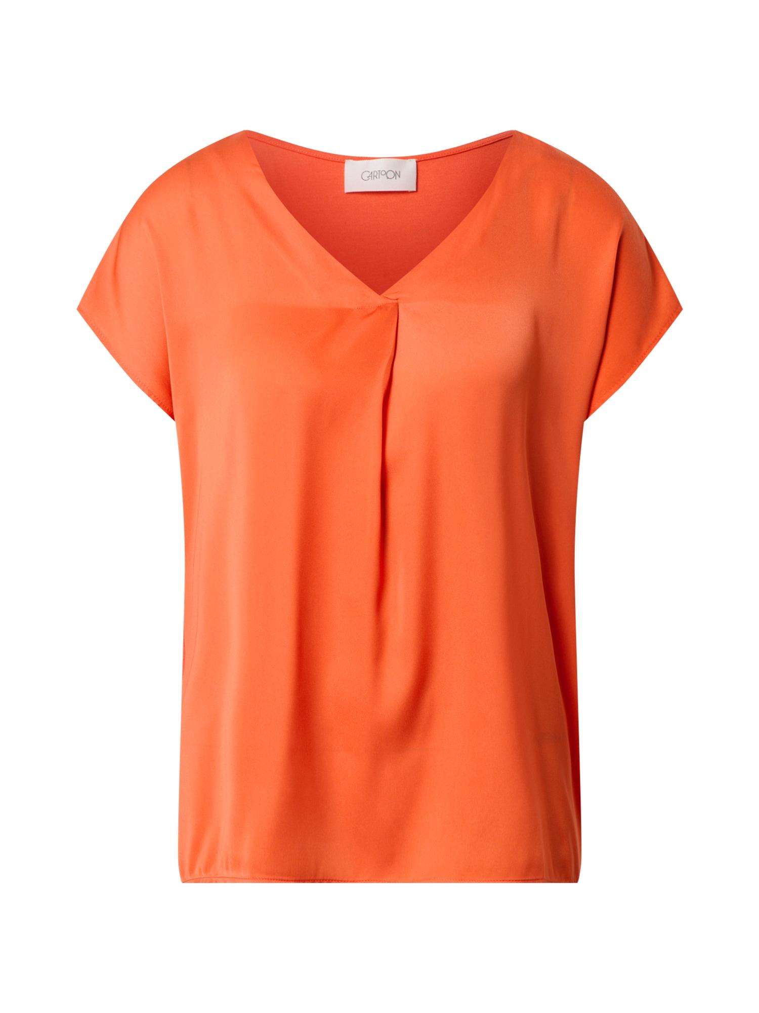 Cartoon Marškinėliai oranžinė