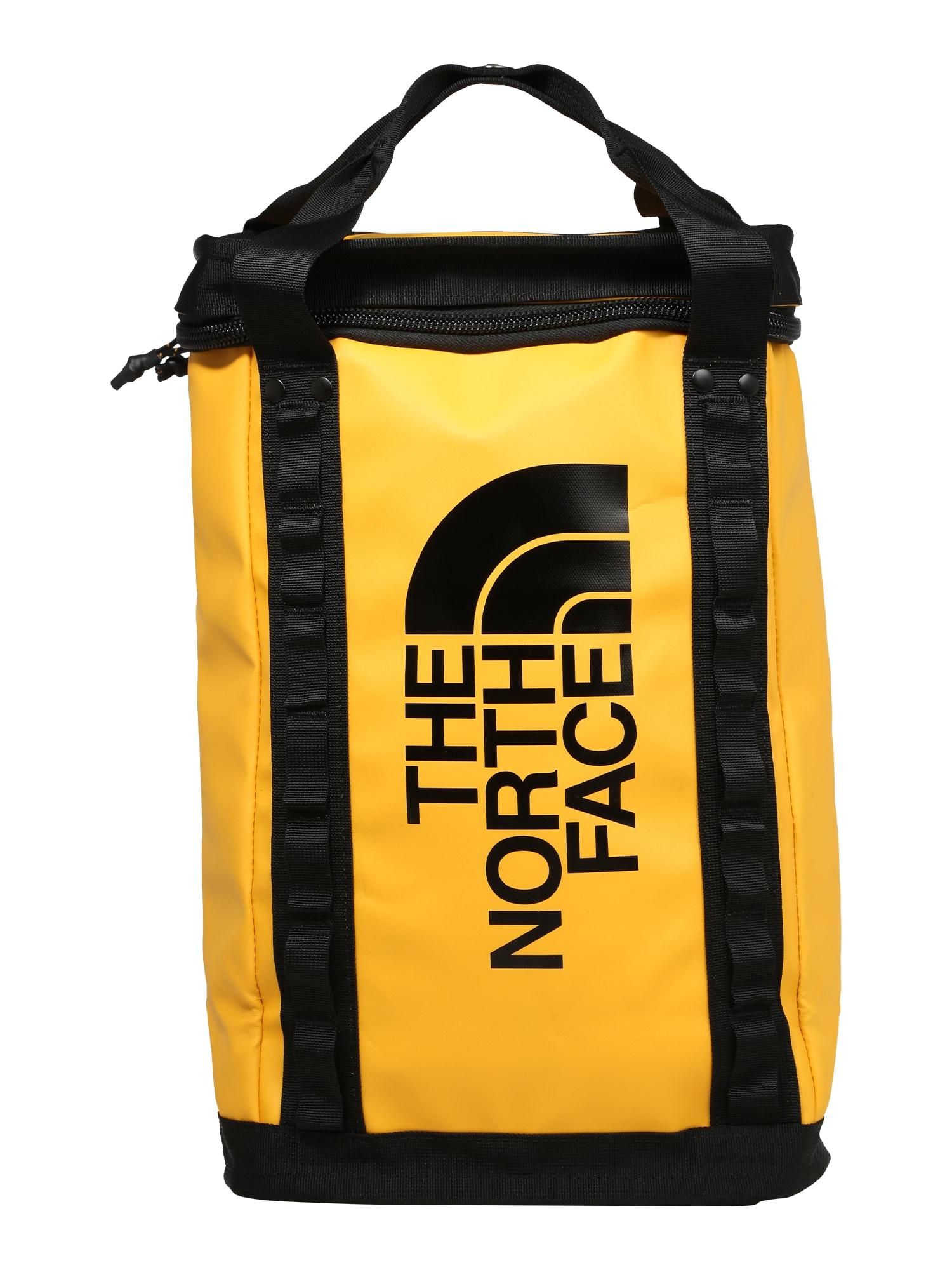 THE NORTH FACE Sportovní taška 'EXPLORE'  černá / žlutá