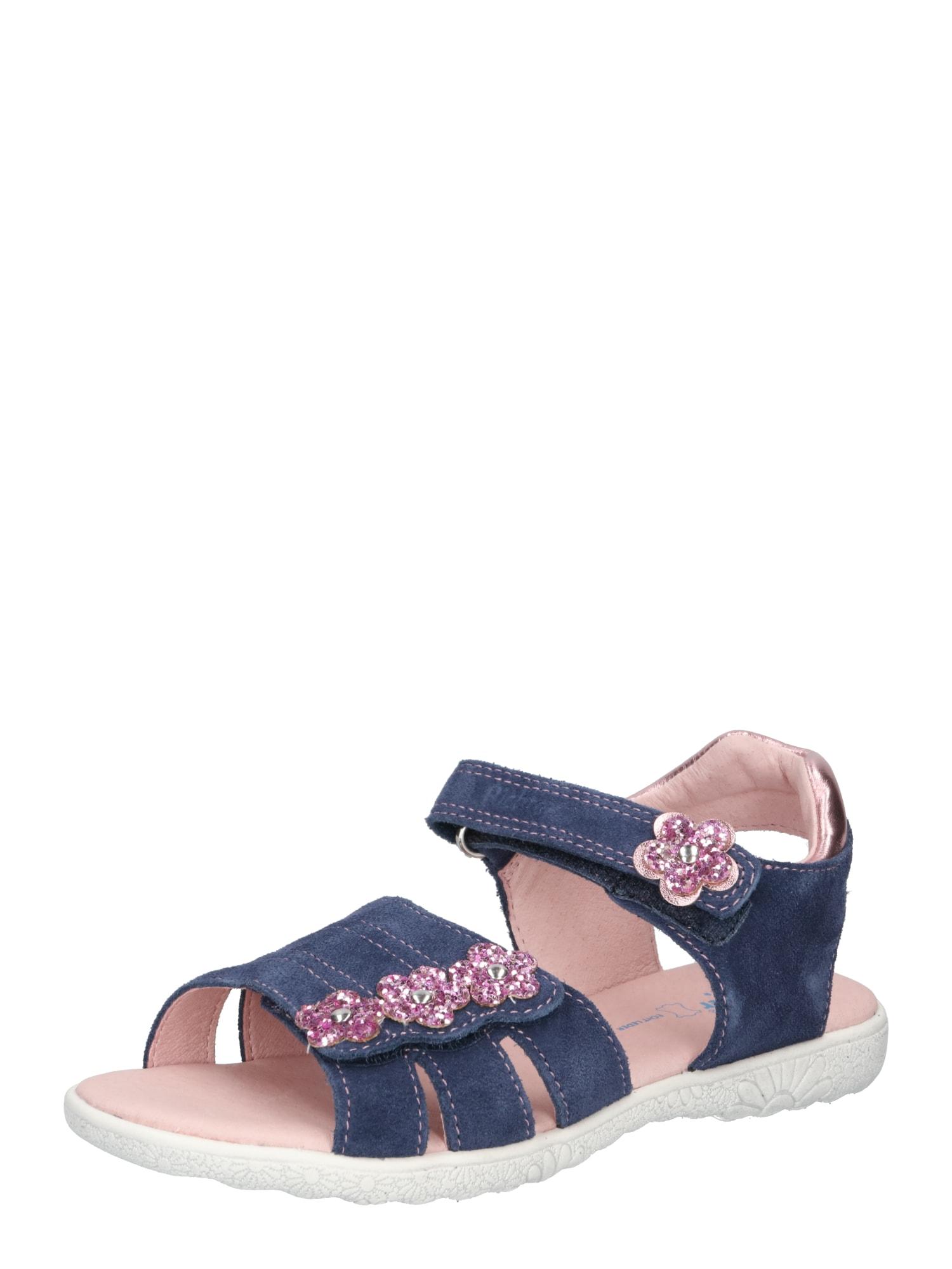 RICHTER Sandalai mėlyna / rožinė