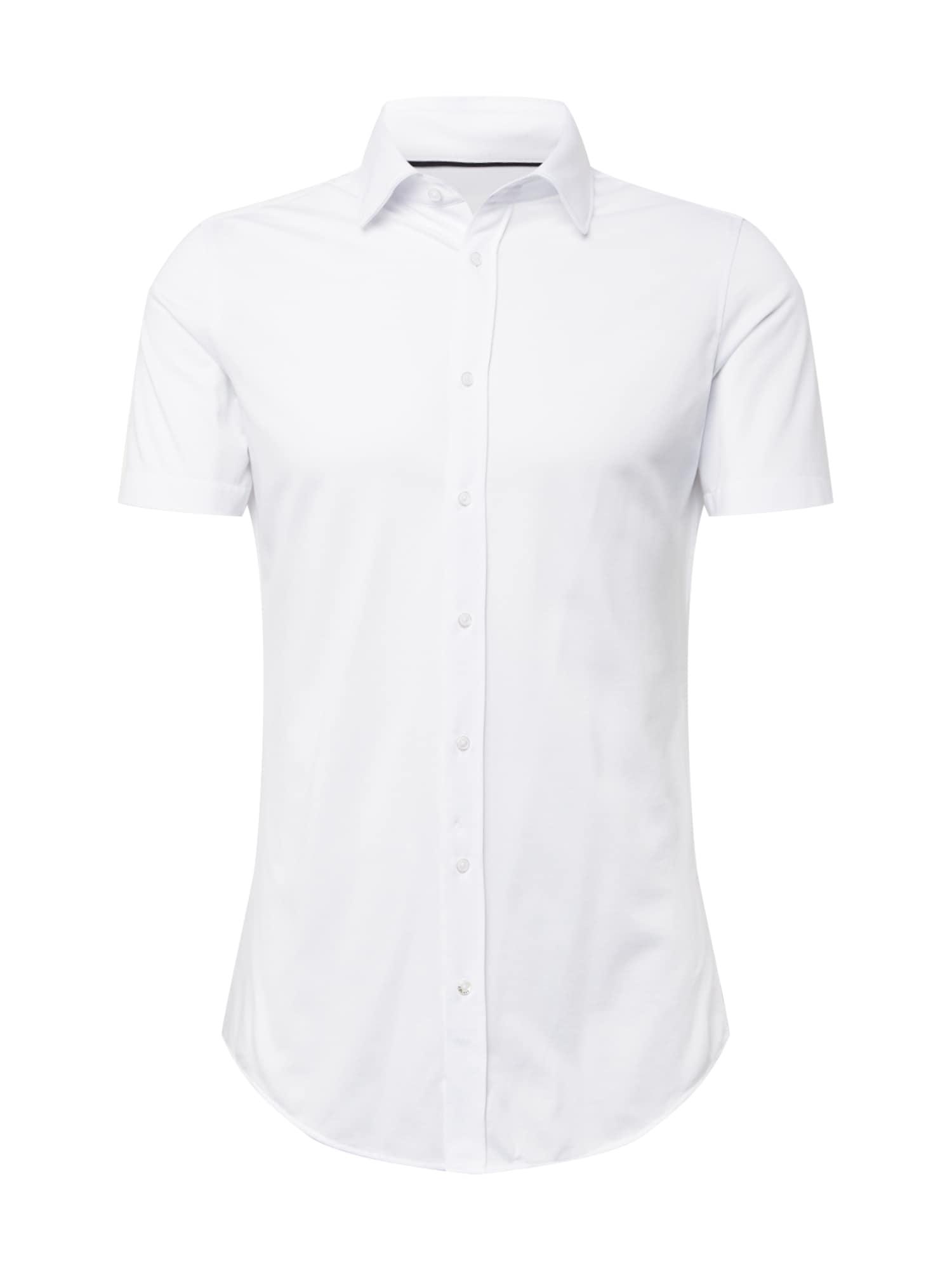s.Oliver BLACK LABEL Dalykinio stiliaus marškiniai balta