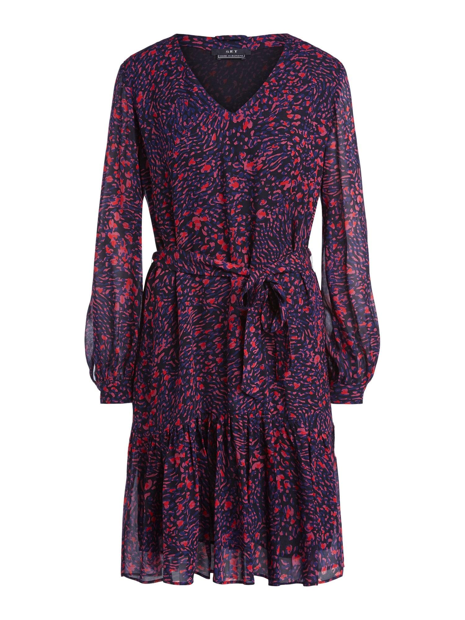 SET Šaty  fialová / modrá