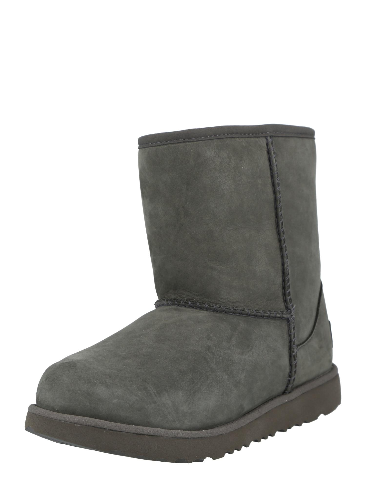 UGG Sniego batai tamsiai pilka