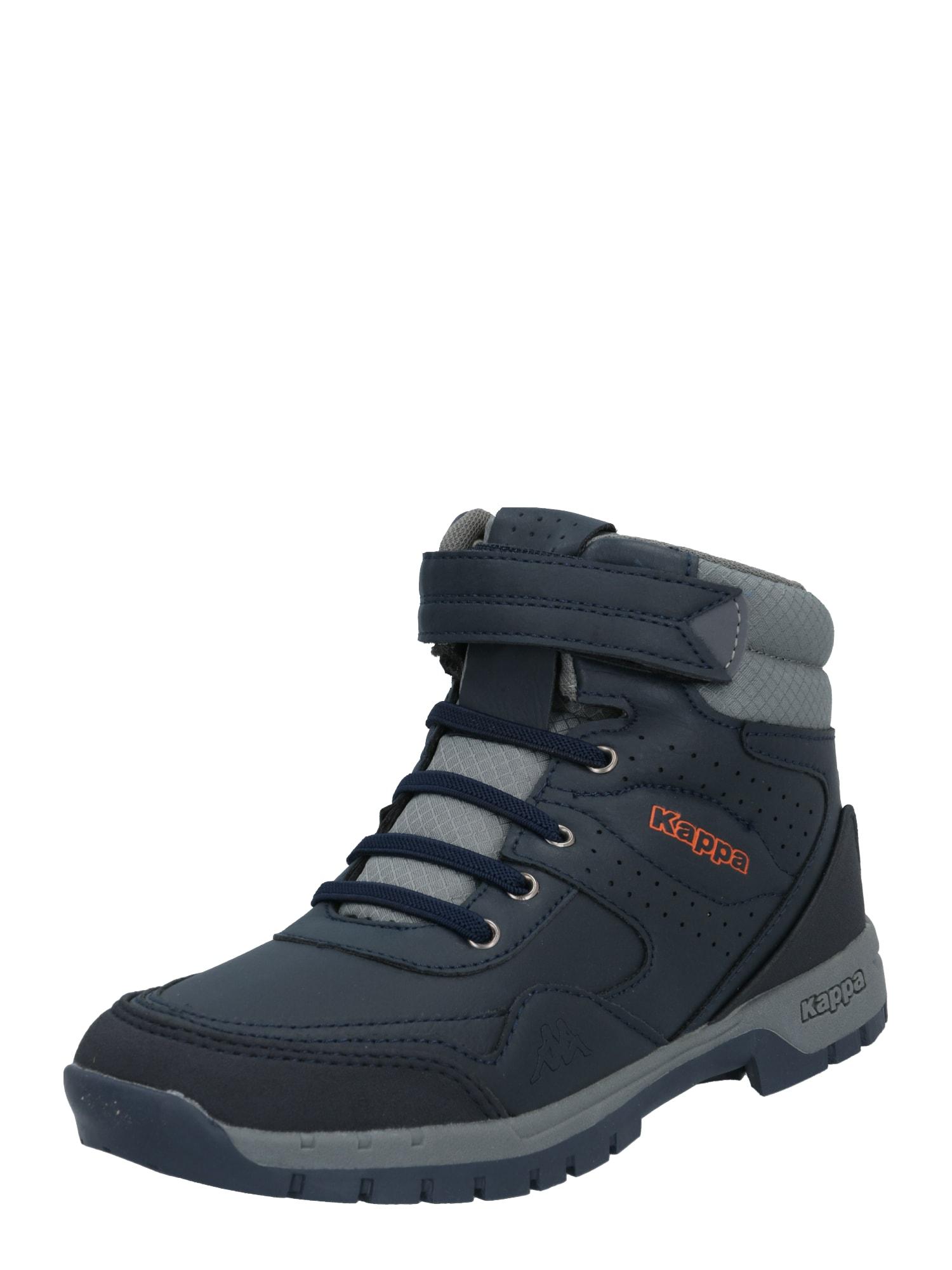 KAPPA Auliniai batai su kulniuku 'LITHIUM' tamsiai mėlyna / pilka