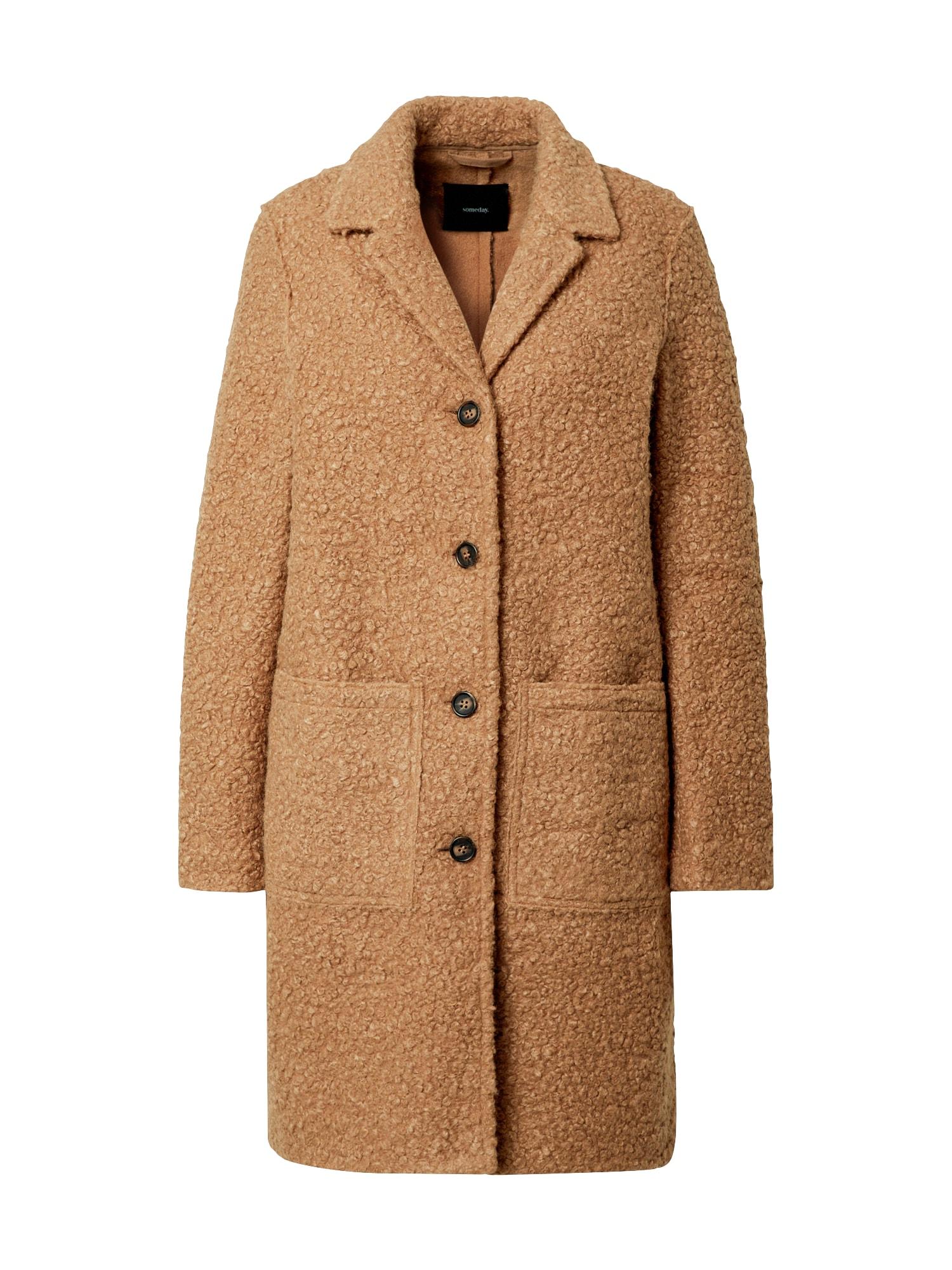 Someday Přechodný kabát 'Vieve'  světle hnědá