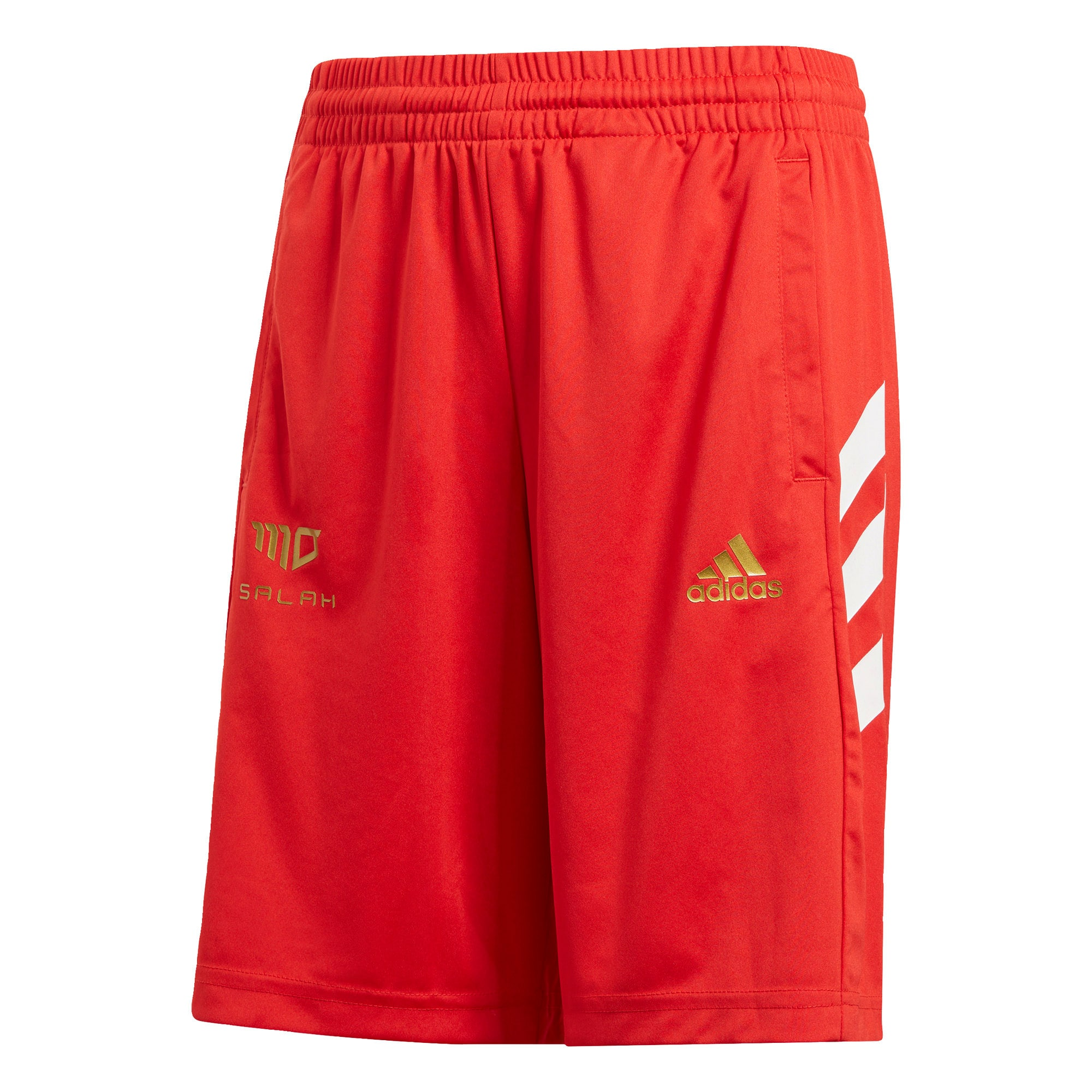 ADIDAS PERFORMANCE Sportinės kelnės 'Sala' šviesiai raudona / auksas / balta