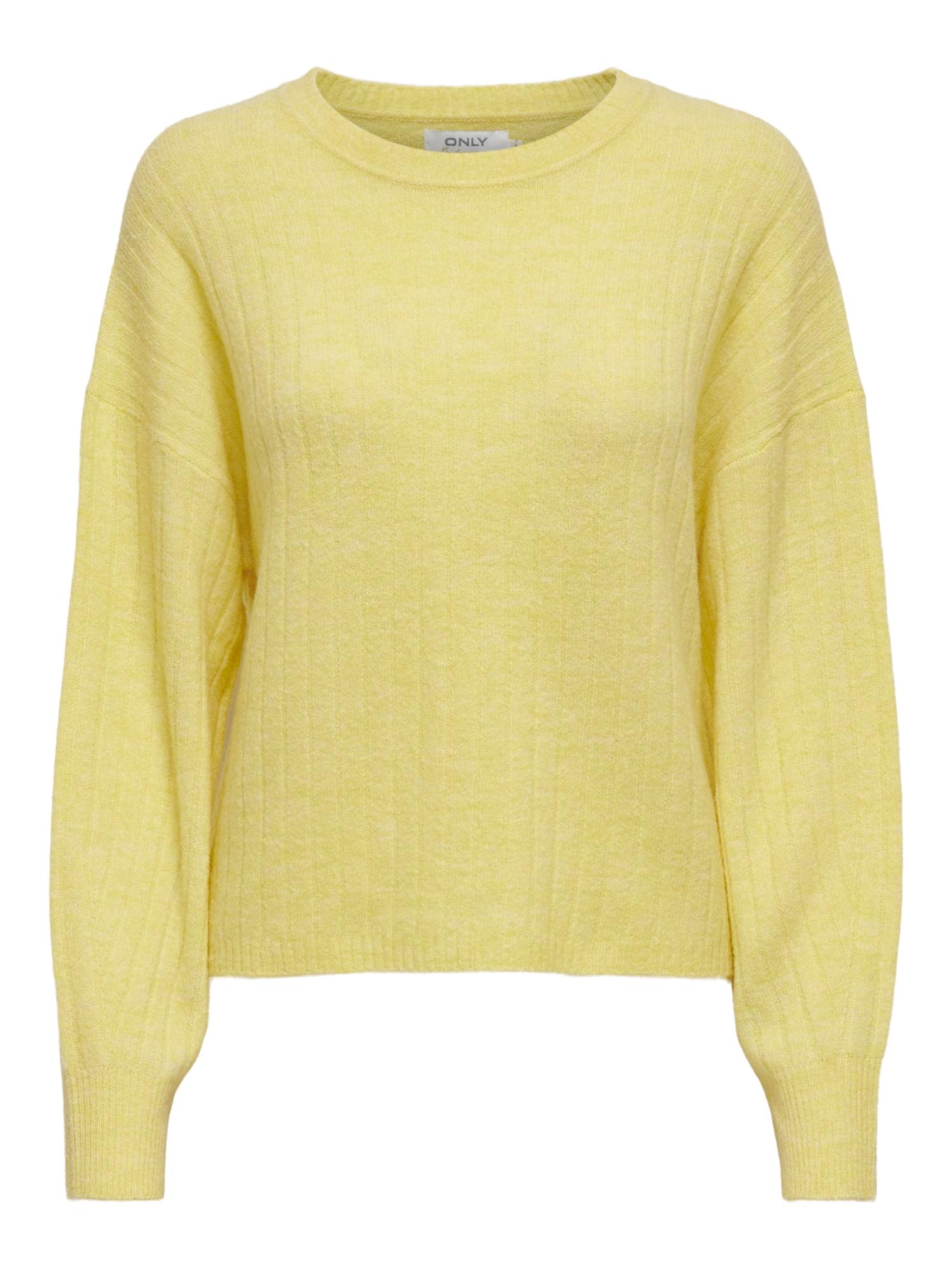 ONLY Megztinis 'Corinne' šviesiai geltona