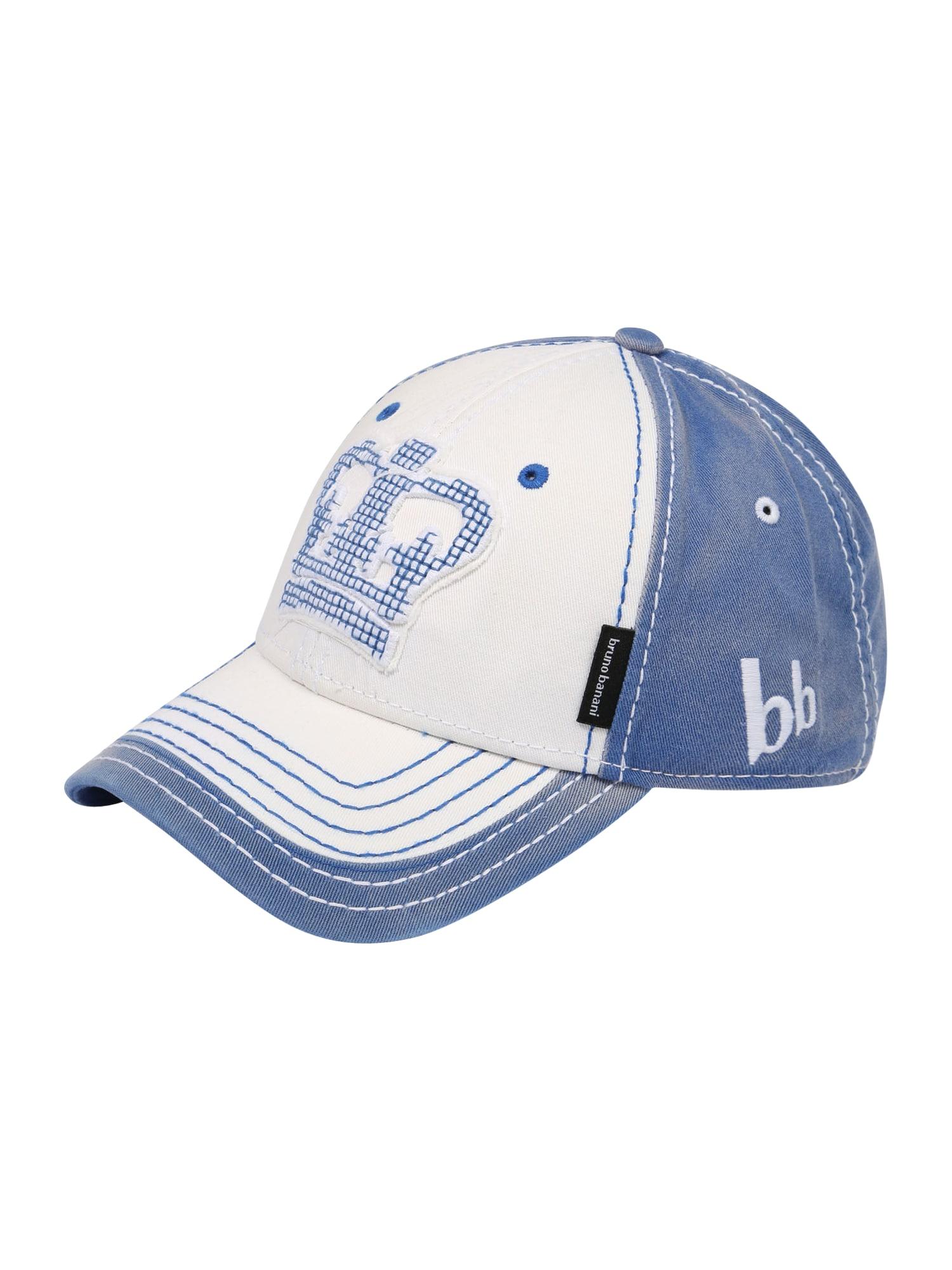 BRUNO BANANI Kepurė balta / tamsiai (džinso) mėlyna