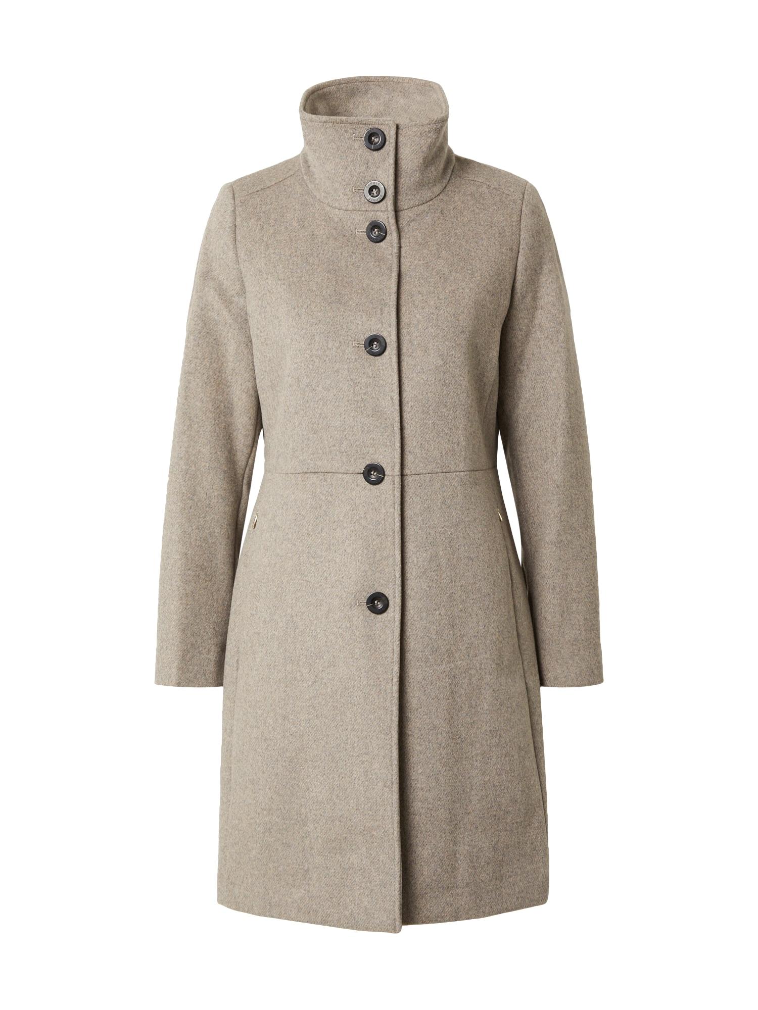 Esprit Collection Zimní kabát  šedobéžová