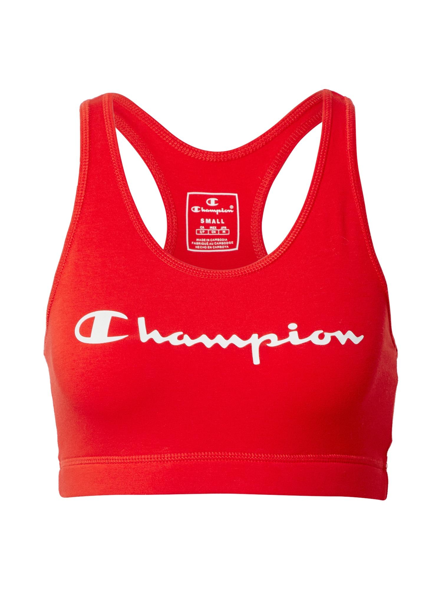 Champion Authentic Athletic Apparel Sportovní podprsenka  červená