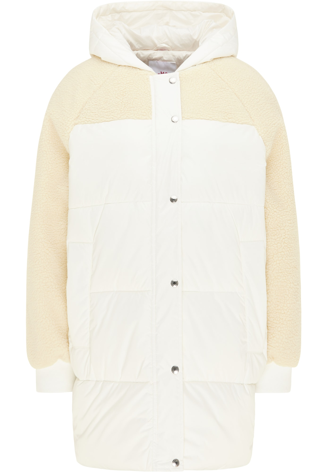 MYMO Žieminis paltas balta / kremo