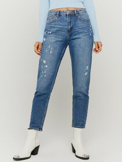 Unsere High Waist Mom Jeans ist eines der vielseitigsten und zeitlosesten Kleidungsstücke, die du besitzen kannst. Dieser zerrissene Vintage-Stil bietet viele Möglichkeiten, wie du sie rocken kannst. Sie hat ein schlabberiges Bein und eine hohe Taille mit langem Reißverschluss, der dich größer aussehen lässt, aber mit einer femininen Silhouette. Diese Denim ist eine perfekte Option für einen süßen Brunch, ein Date oder sogar eine Nacht zum Ausgehen. Hergestellt aus 100% Baumwolle.