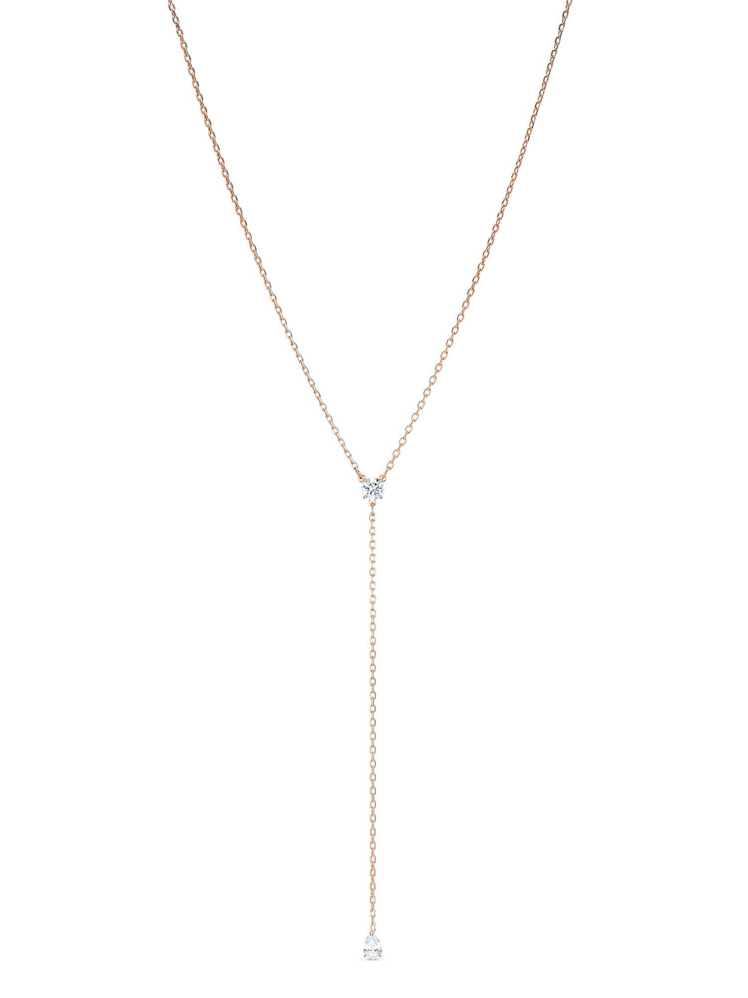 Swarovski Grandinėlė rožinio aukso spalva