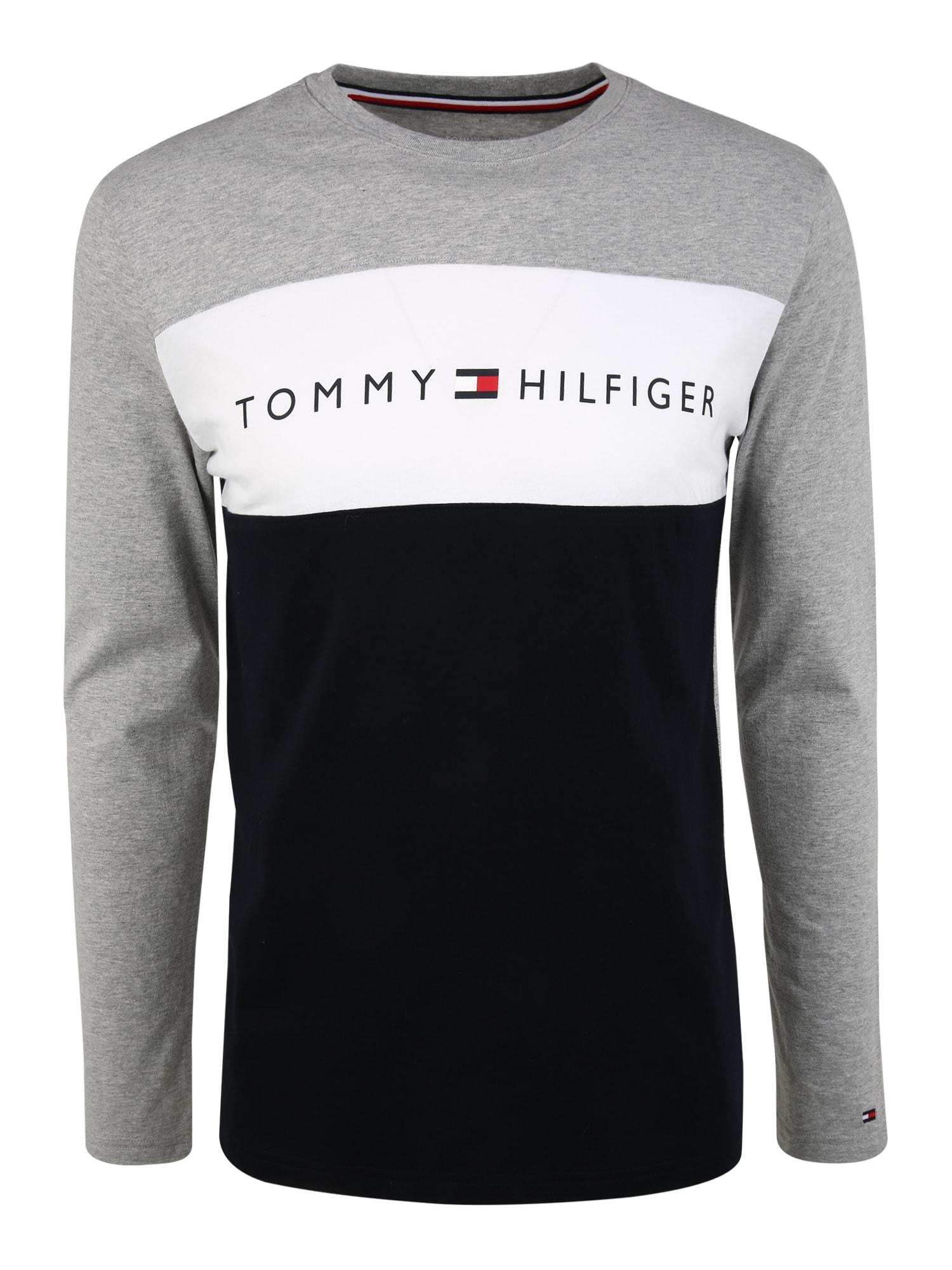 Tommy Hilfiger Underwear Tílko  šedý melír / námořnická modř / bílá