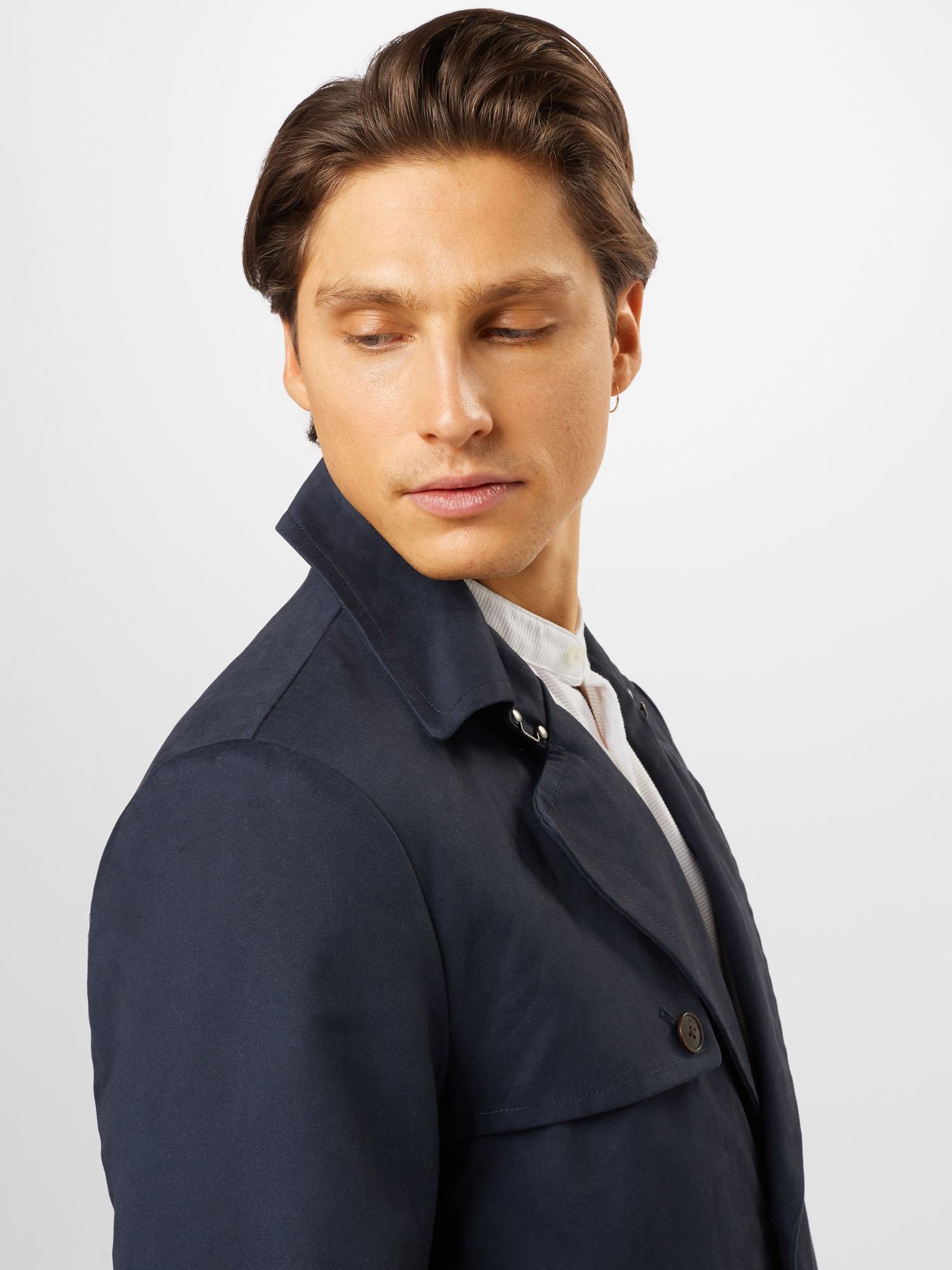 ESPRIT Prechodný kabát  námornícka modrá.