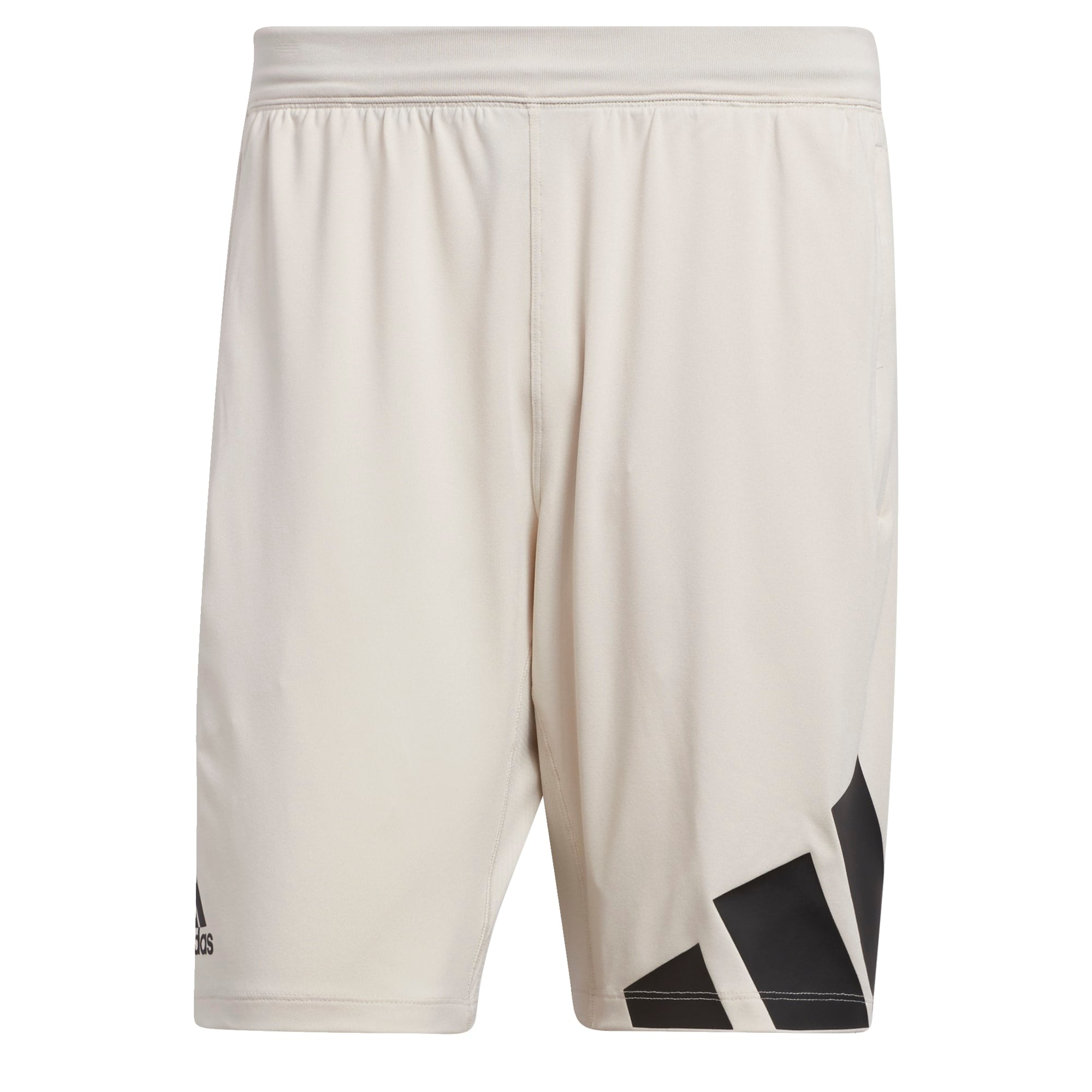 ADIDAS PERFORMANCE Sportinės kelnės juoda / dramblio kaulo