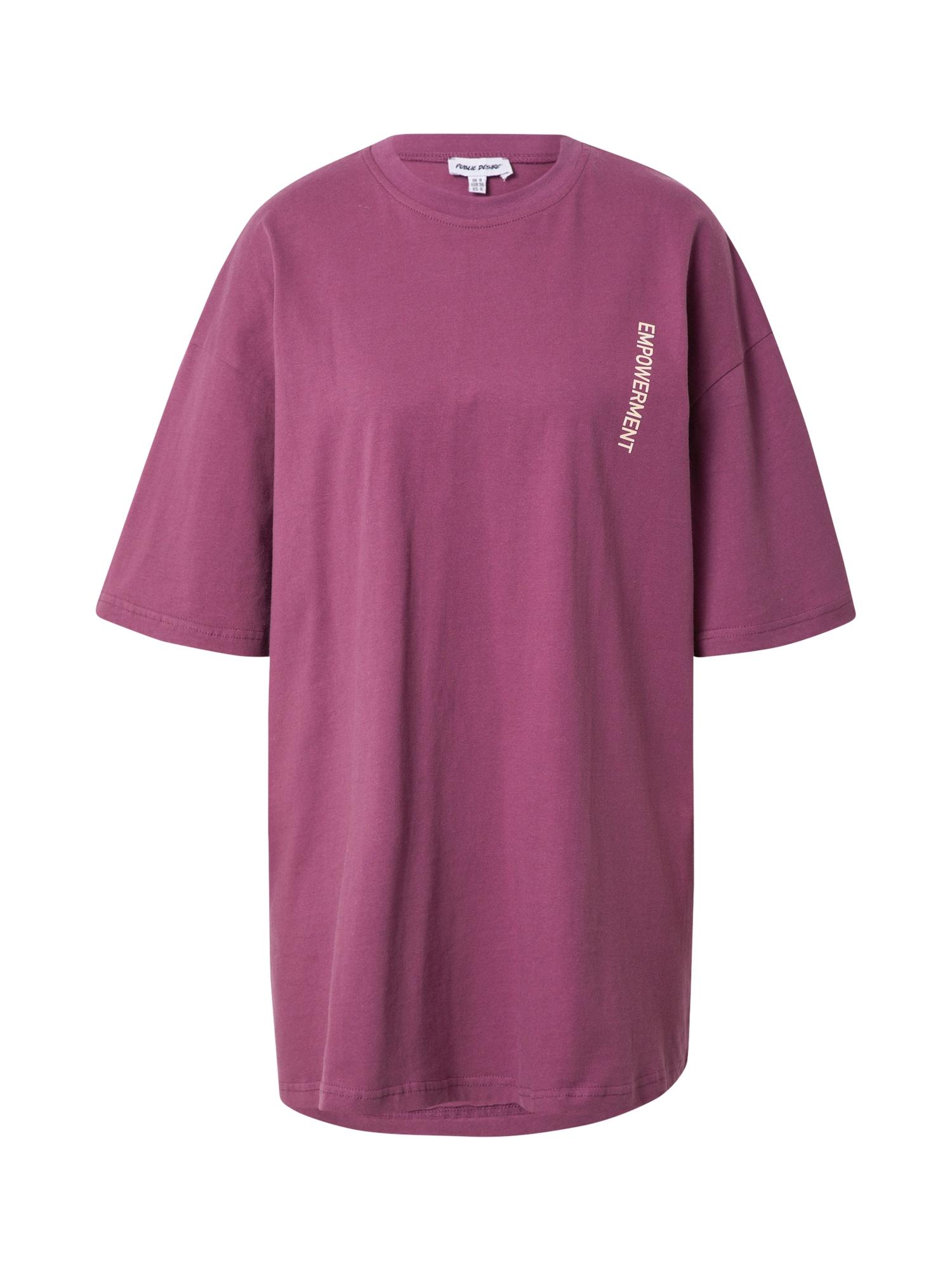 Public Desire Laisva suknelė uogų spalva / oranžinė / smėlio spalva / smėlio