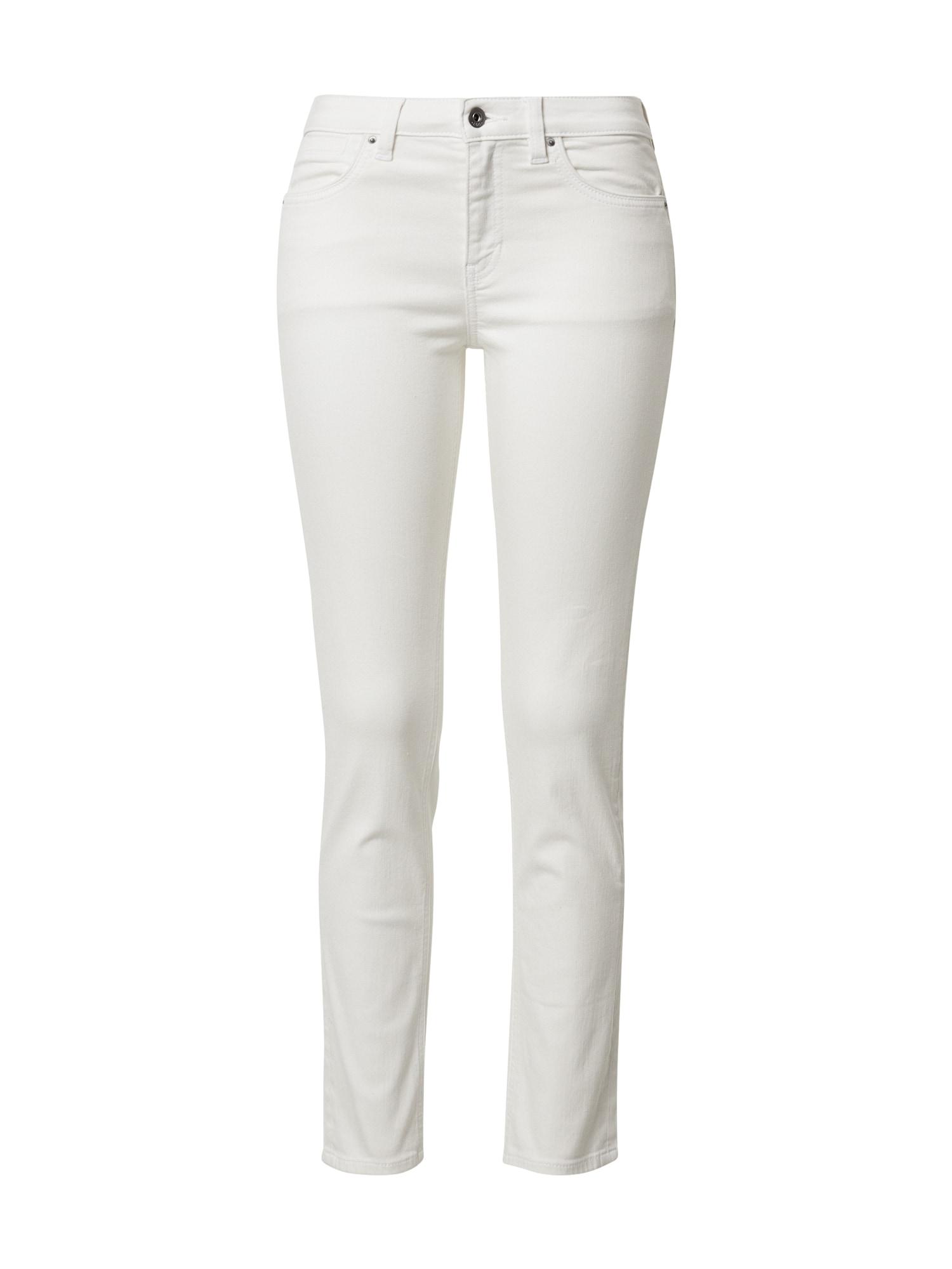 EDC BY ESPRIT Džinsai balto džinso spalva