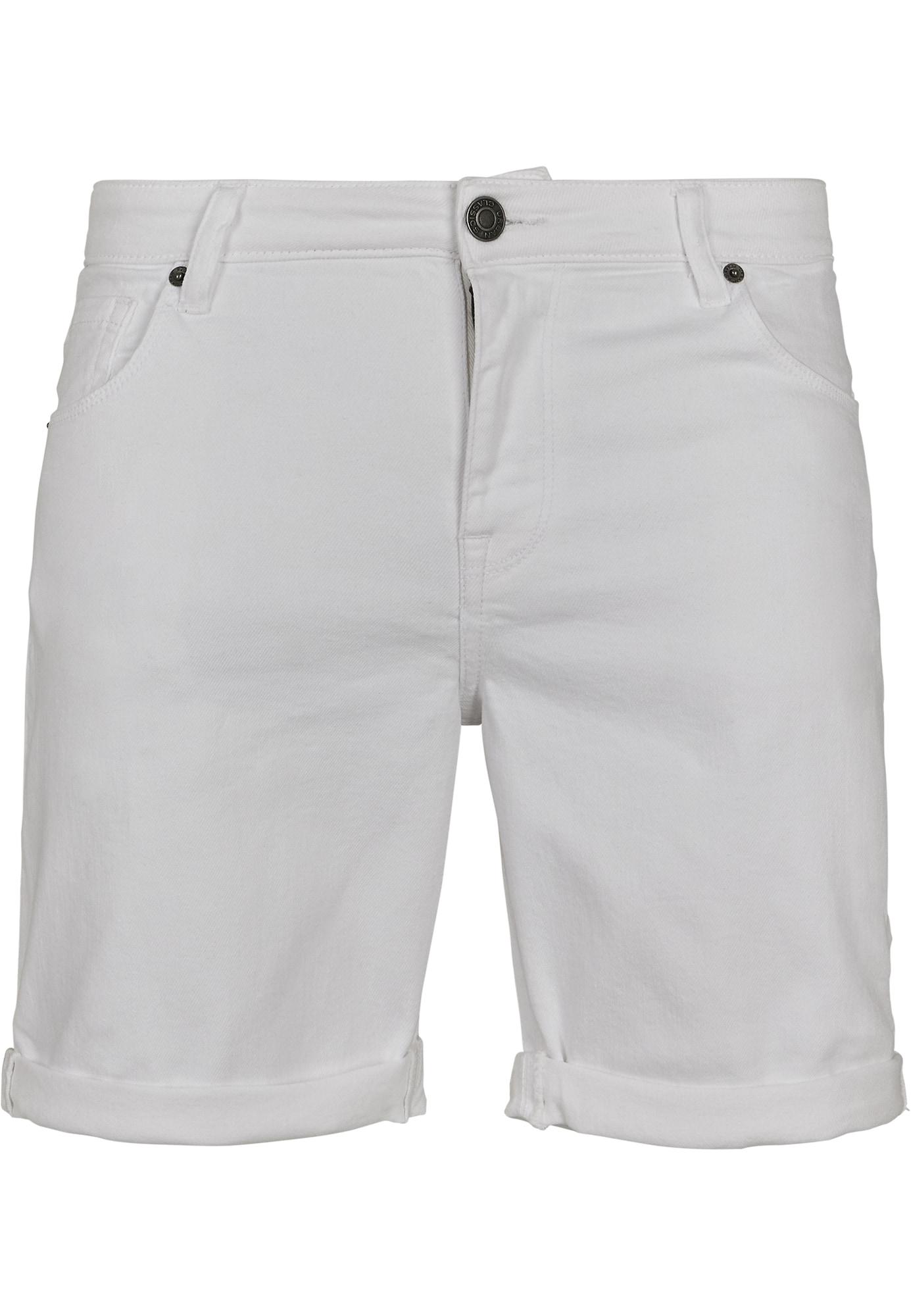 Urban Classics Džinsai balto džinso spalva