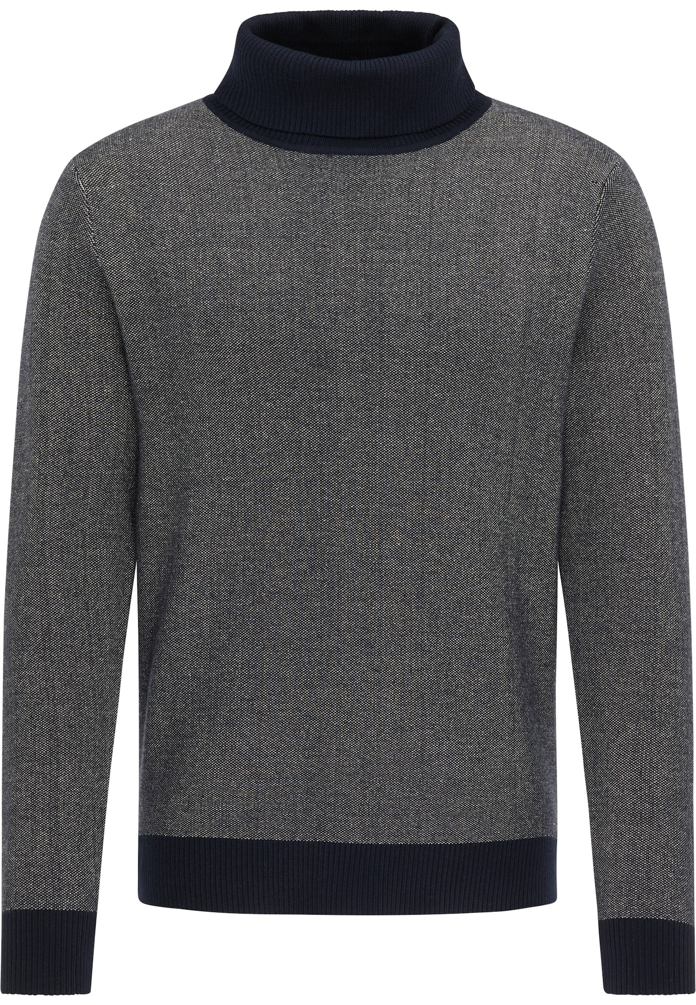 DreiMaster Vintage Megztinis margai pilka / tamsiai mėlyna