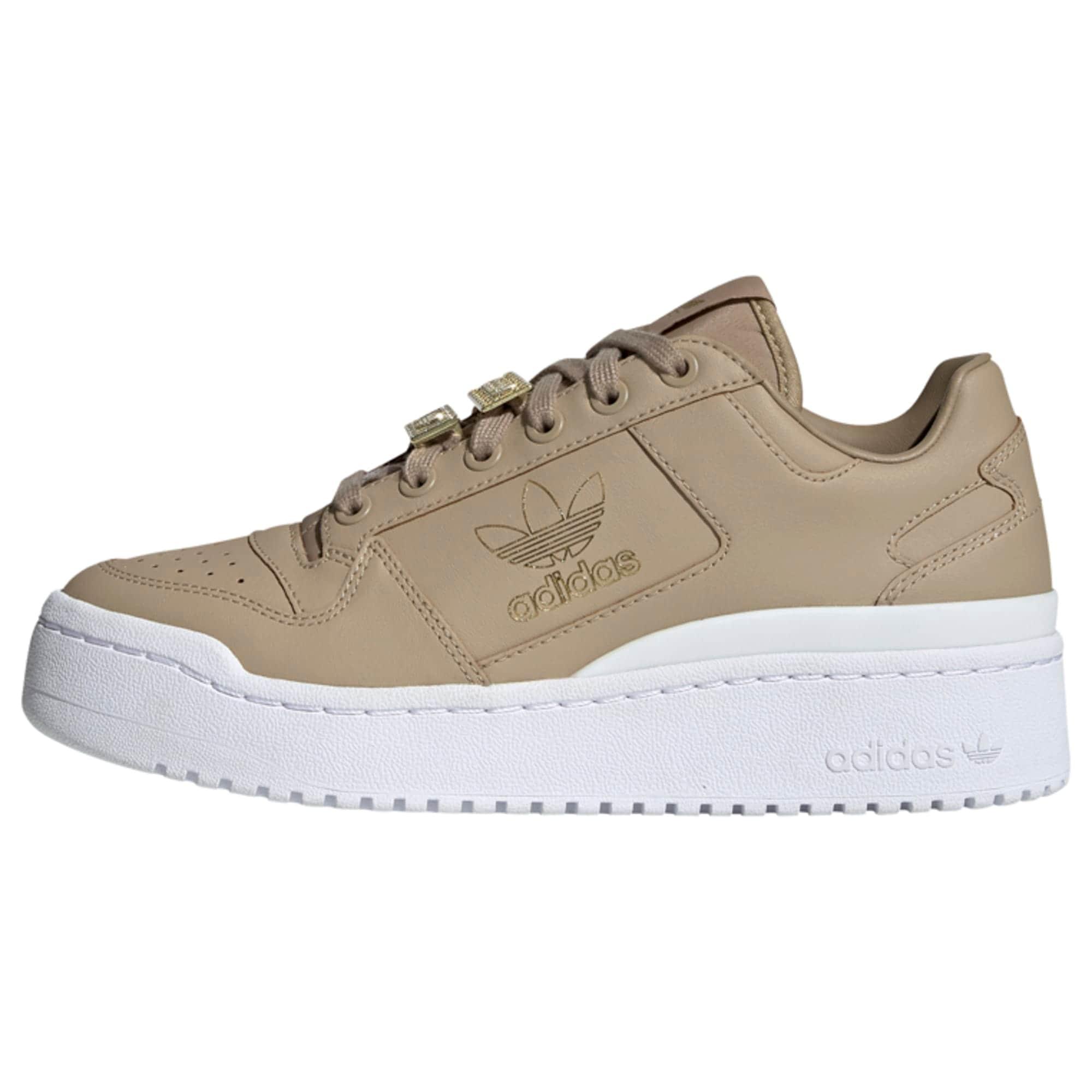 ADIDAS ORIGINALS Tenisky 'Forum Bold Shoes'  béžová