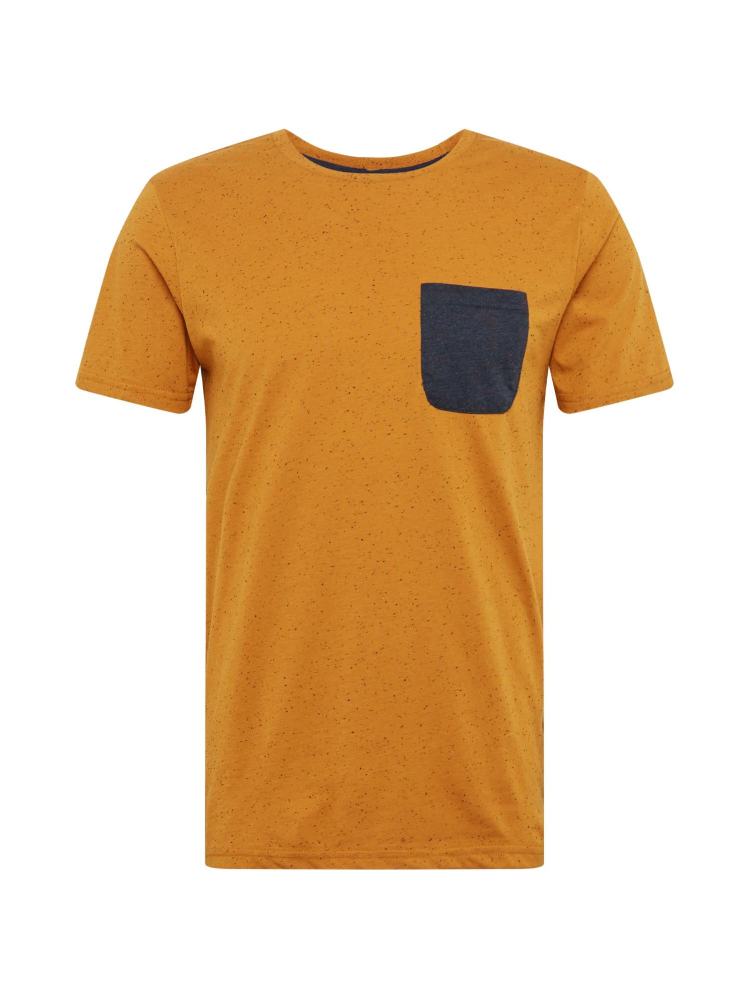 !Solid Marškinėliai oranžinė