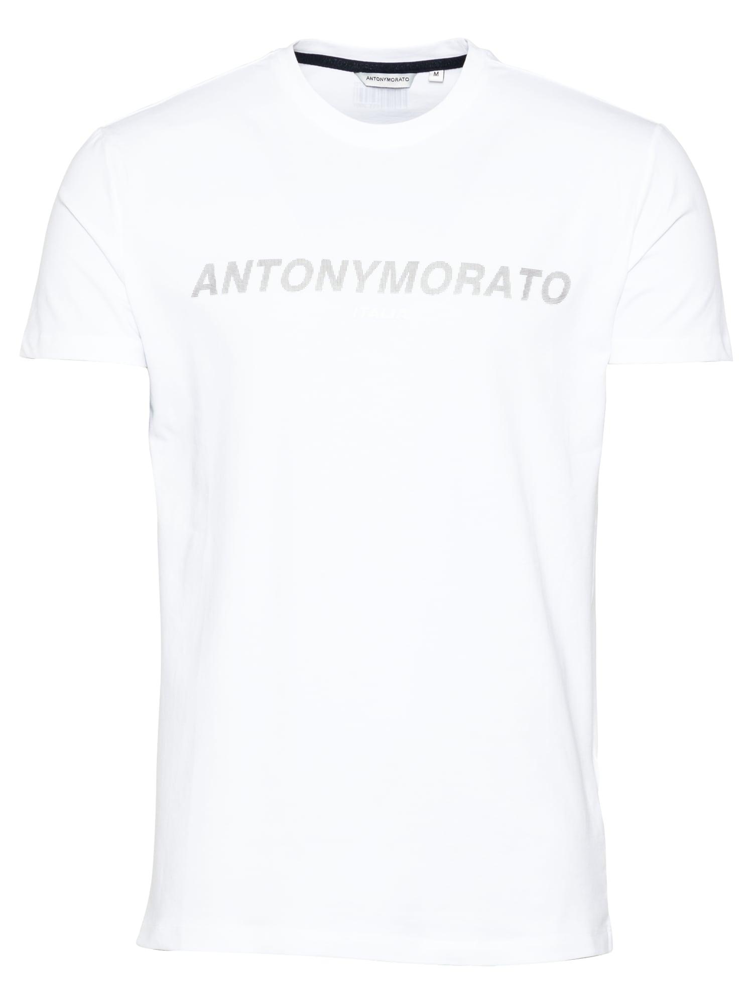 ANTONY MORATO Marškinėliai balta / pilka