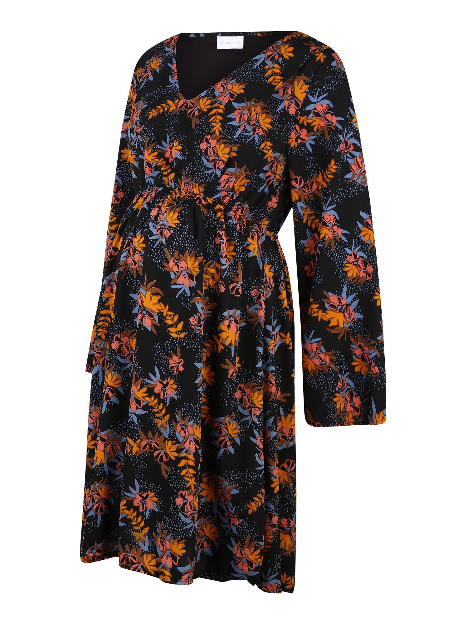 MAMALICIOUS Suknelė 'Madelyn' mišrios spalvos / nakties mėlyna