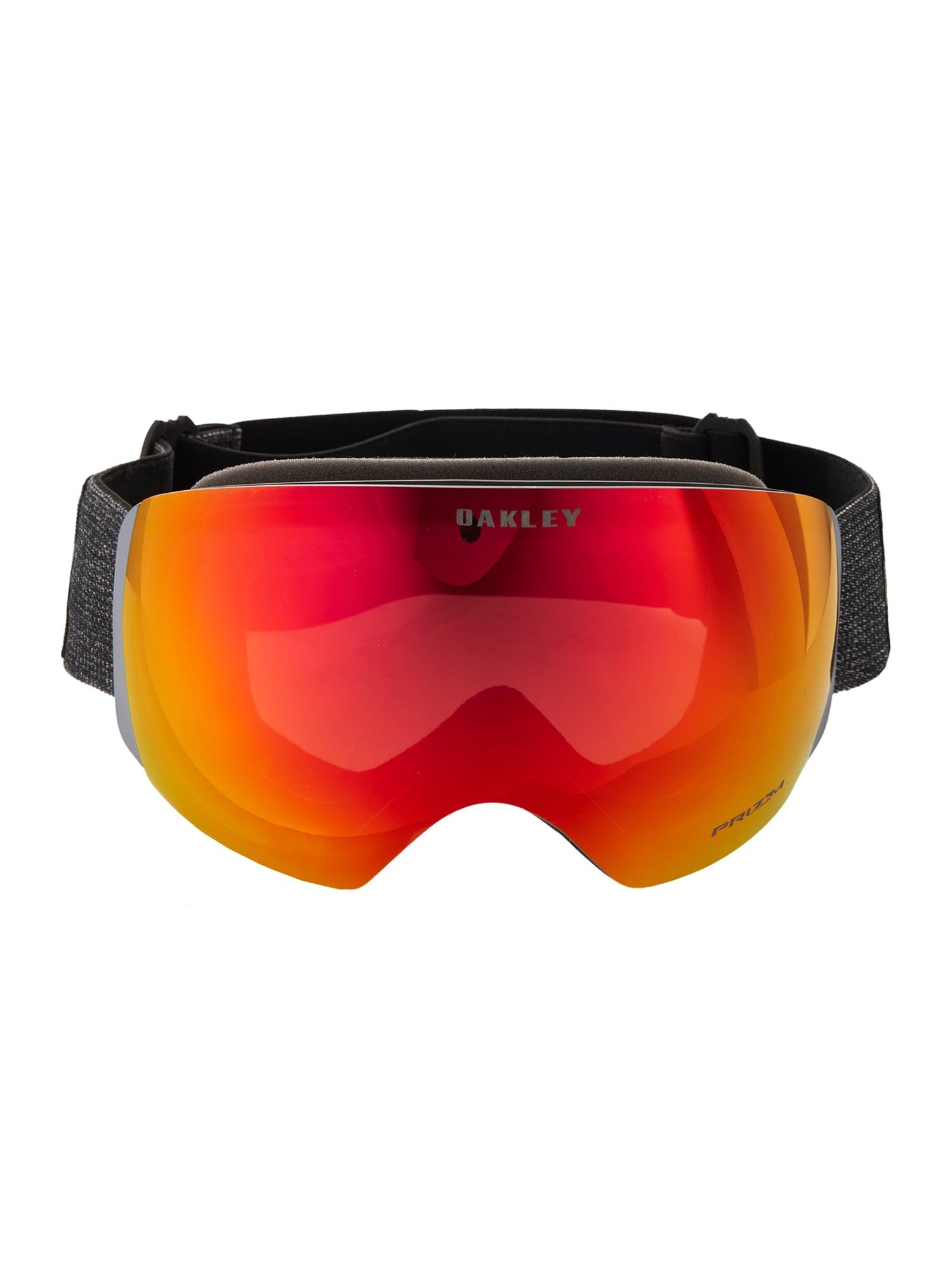 OAKLEY Sportiniai akiniai 'Flight Deck' raudona / tamsiai pilka
