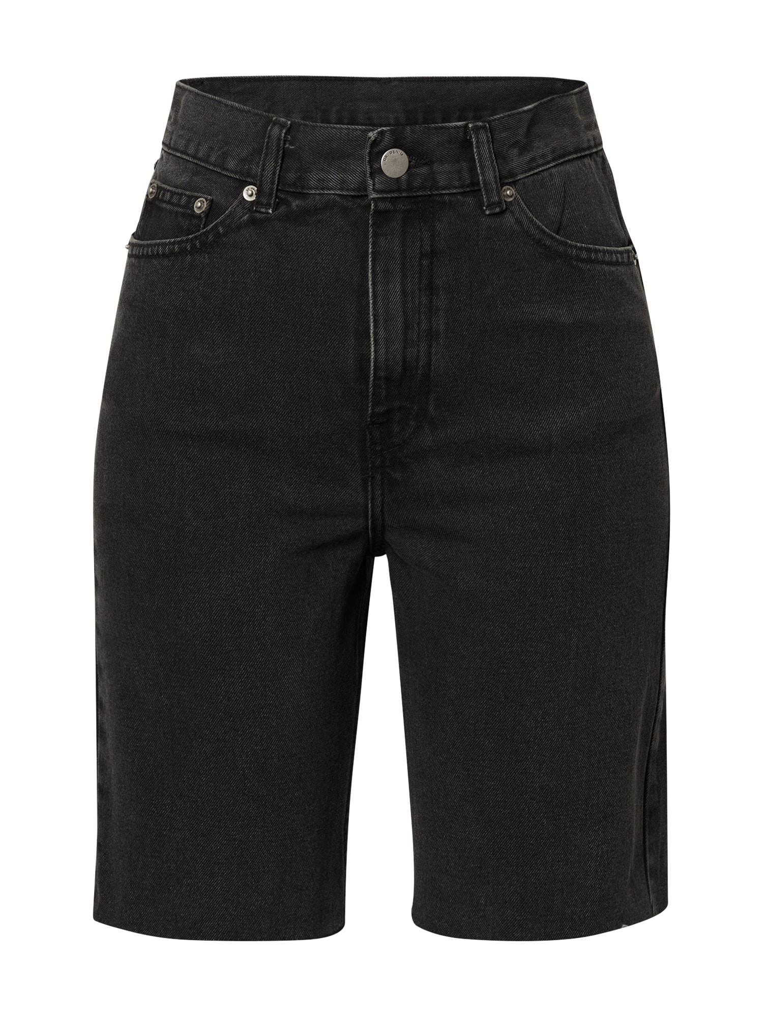 Dr. Denim Džinsai juodo džinso spalva