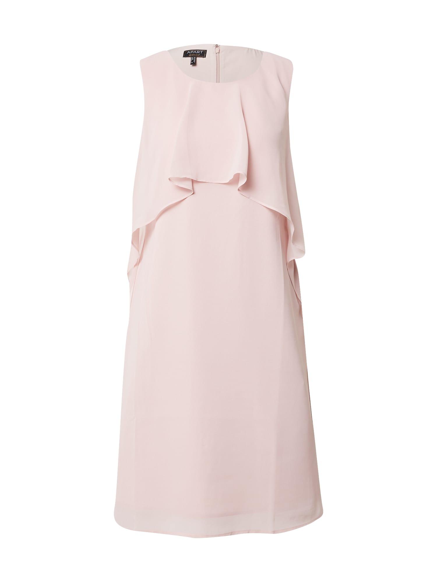 APART Kokteilinė suknelė rožių spalva