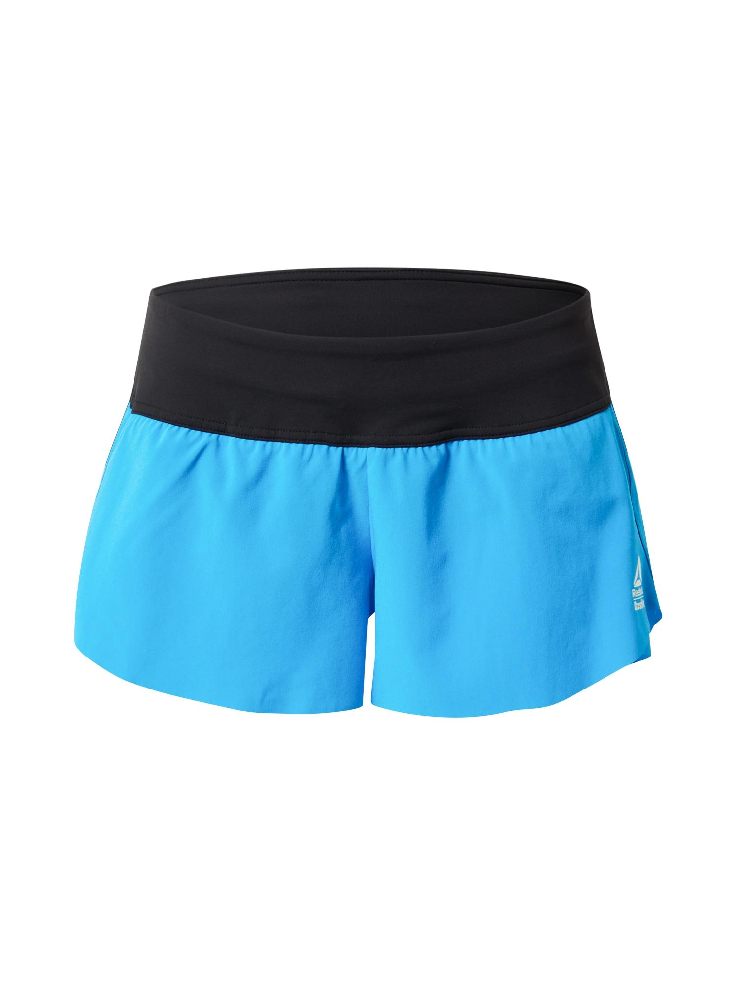 REEBOK Sportinės kelnės mėlyna / juoda